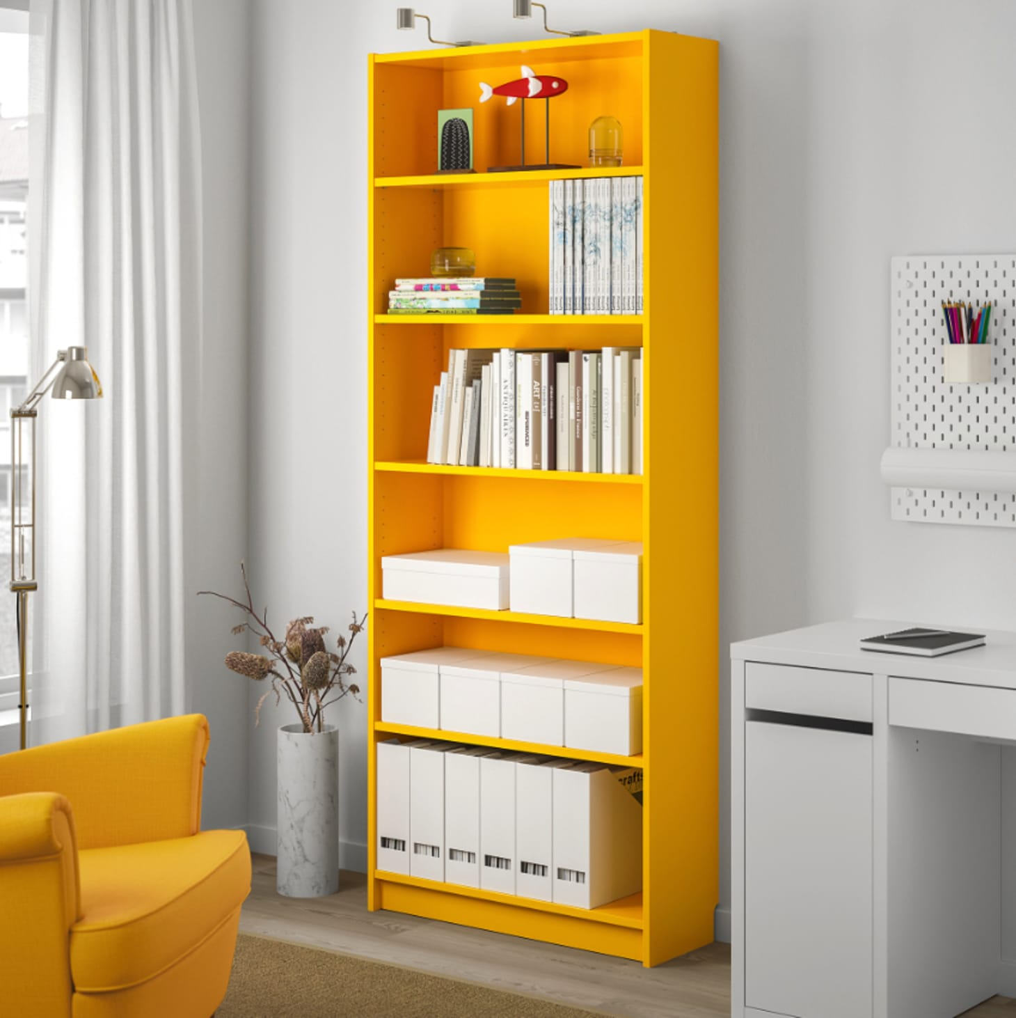 Ikea Billy Bookcase 40th Anniversary Yellow Edition