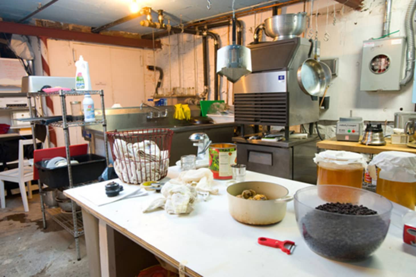 Kitchen Tour: Sarah's Small and Plucky Ortine Café | Kitchn