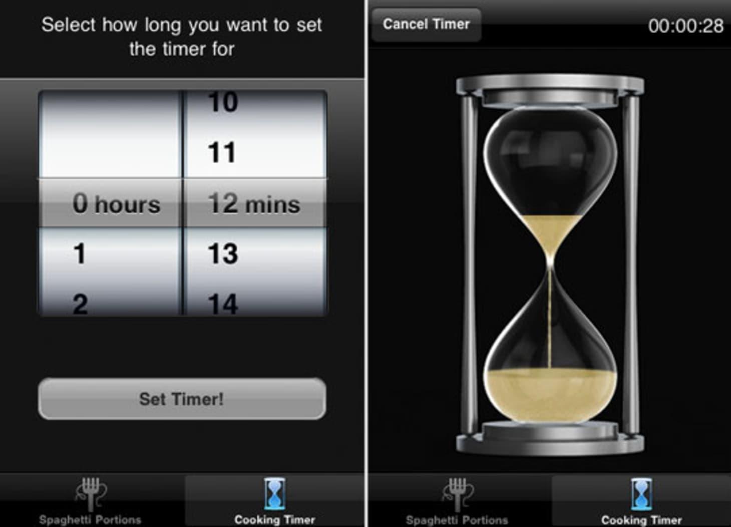 iPhone App: Pastatime   Kitchn