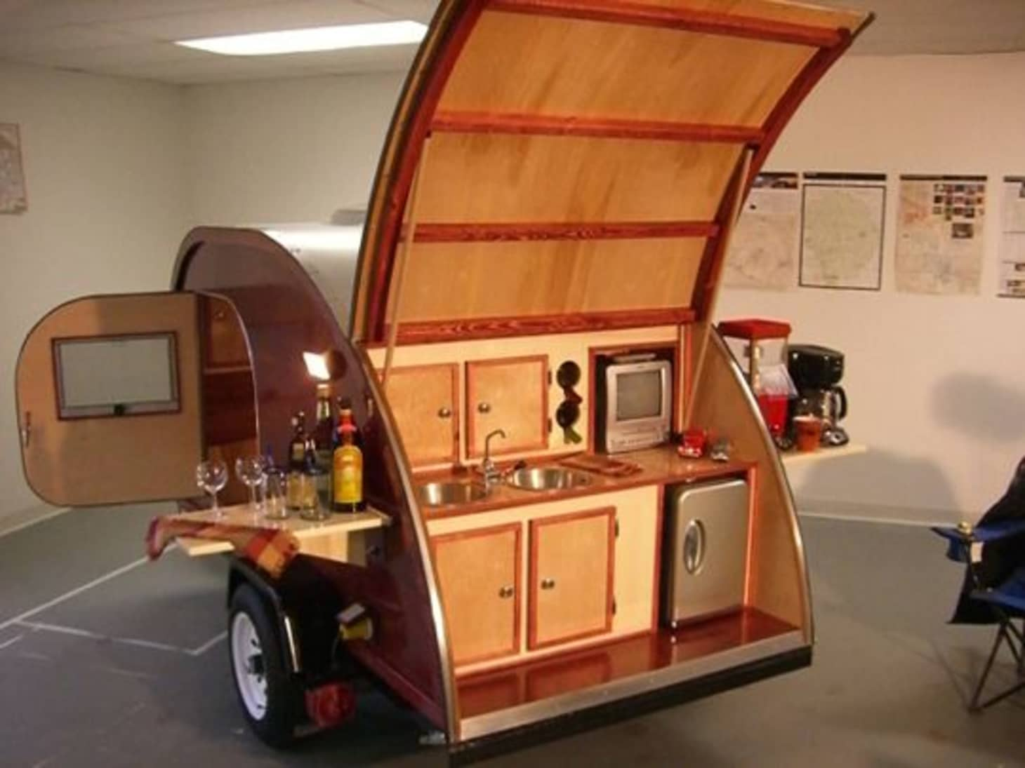 Teardrop Trailers Hitch A Tiny Kitchen To Your Car Kitchn