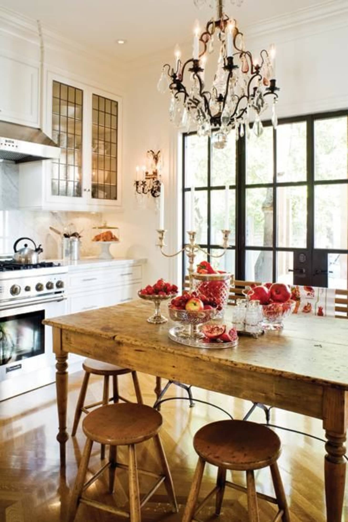 Old Wood Tables in the Middle of the Kitchen | Kitchn