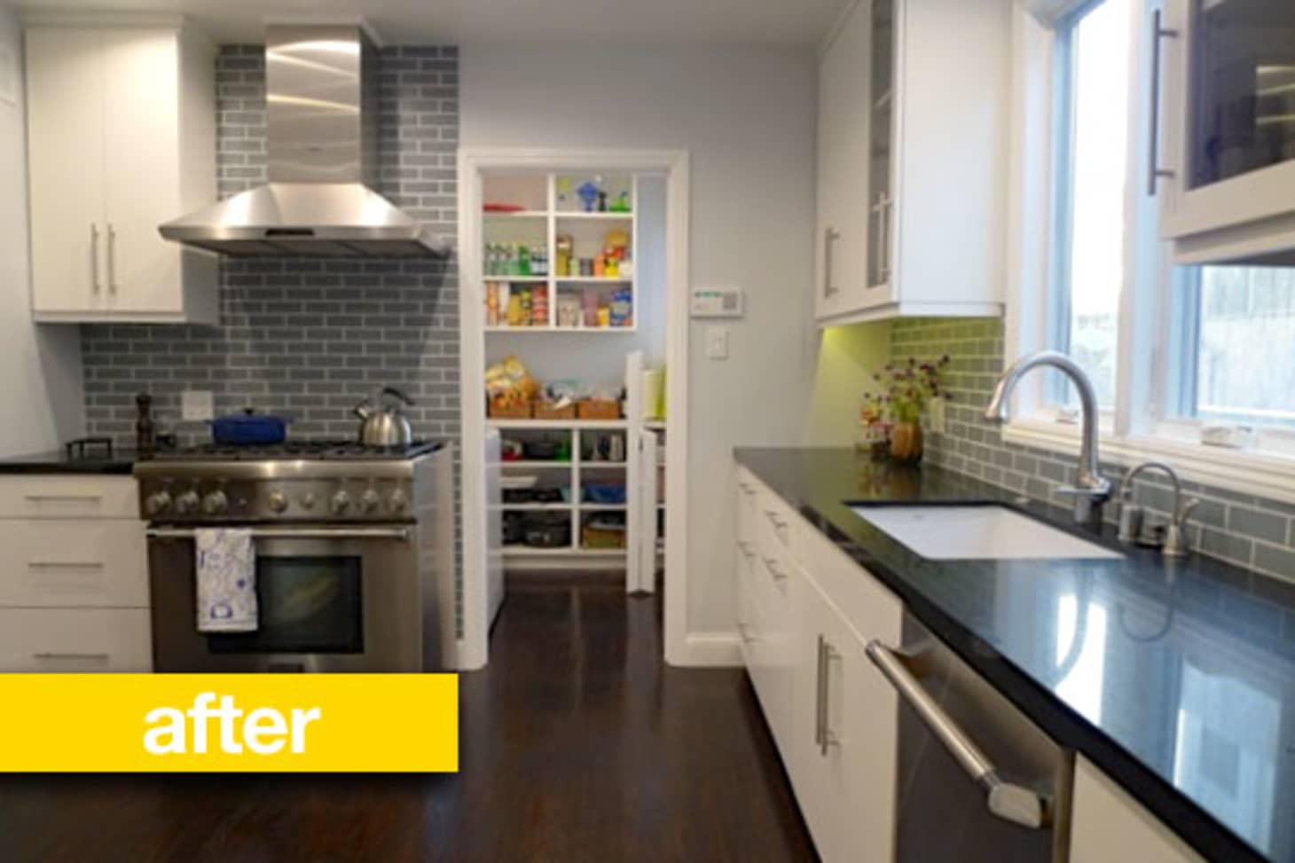 Kitchen Before & After: Julie's Outdated Kitchen Gets a