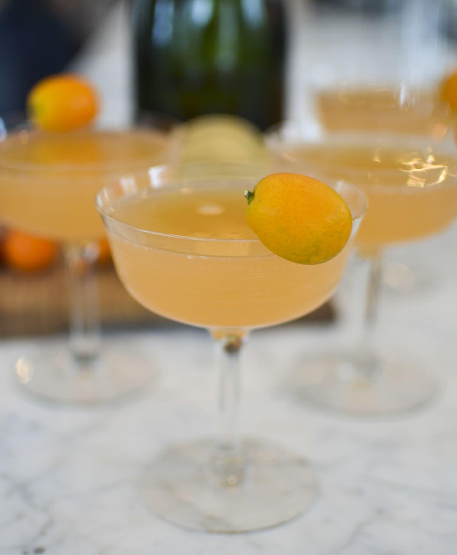 Recipe: Grapefruit Mimosas For A Crowd