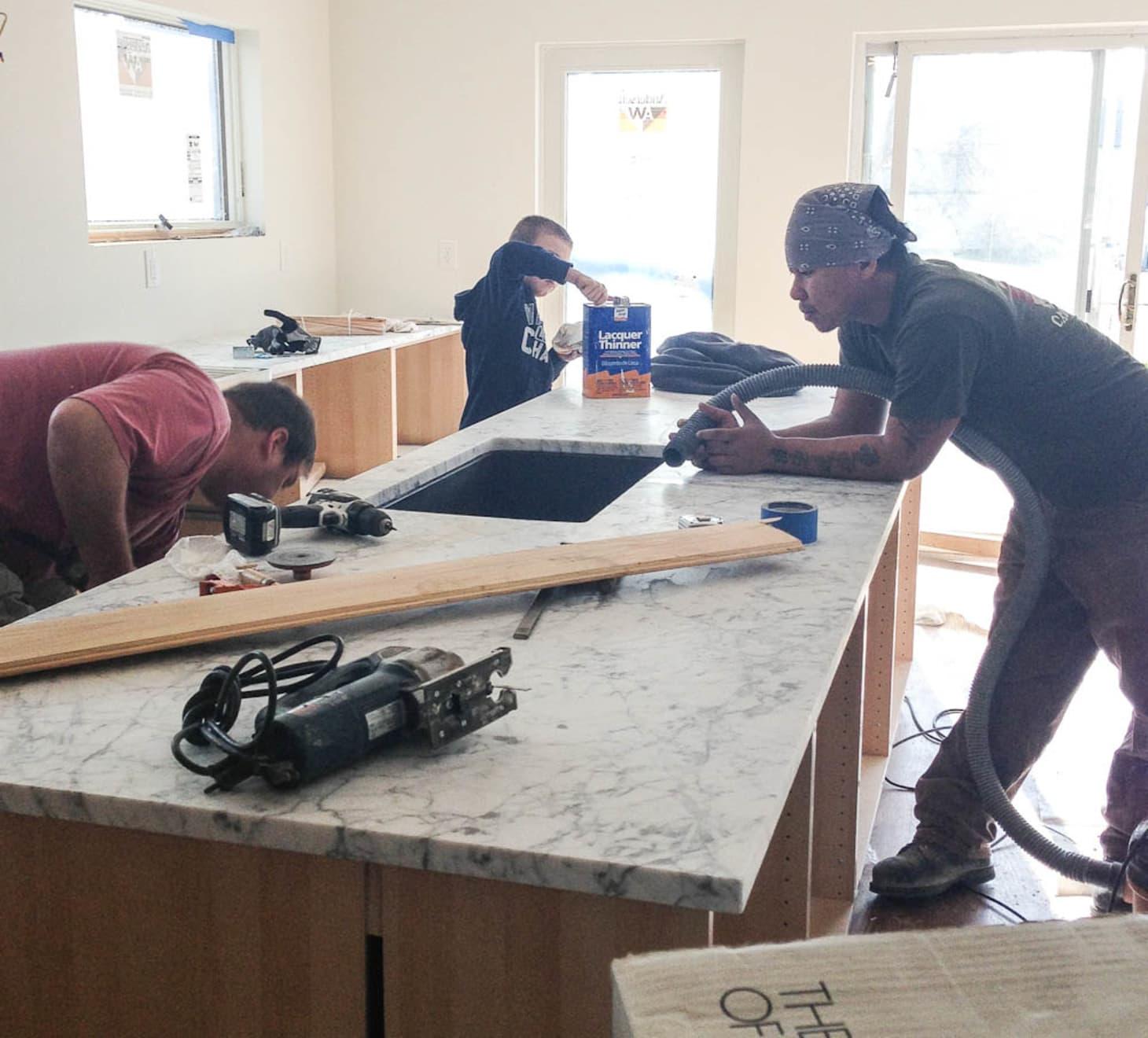 Faith's Kitchen Renovation: How We Finally Got Our Carrara