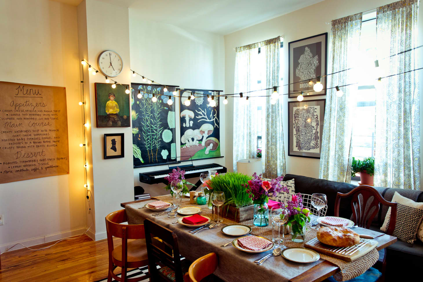 5 Tips for Throwing a Dinner Party in a Small Apartment   Kitchn