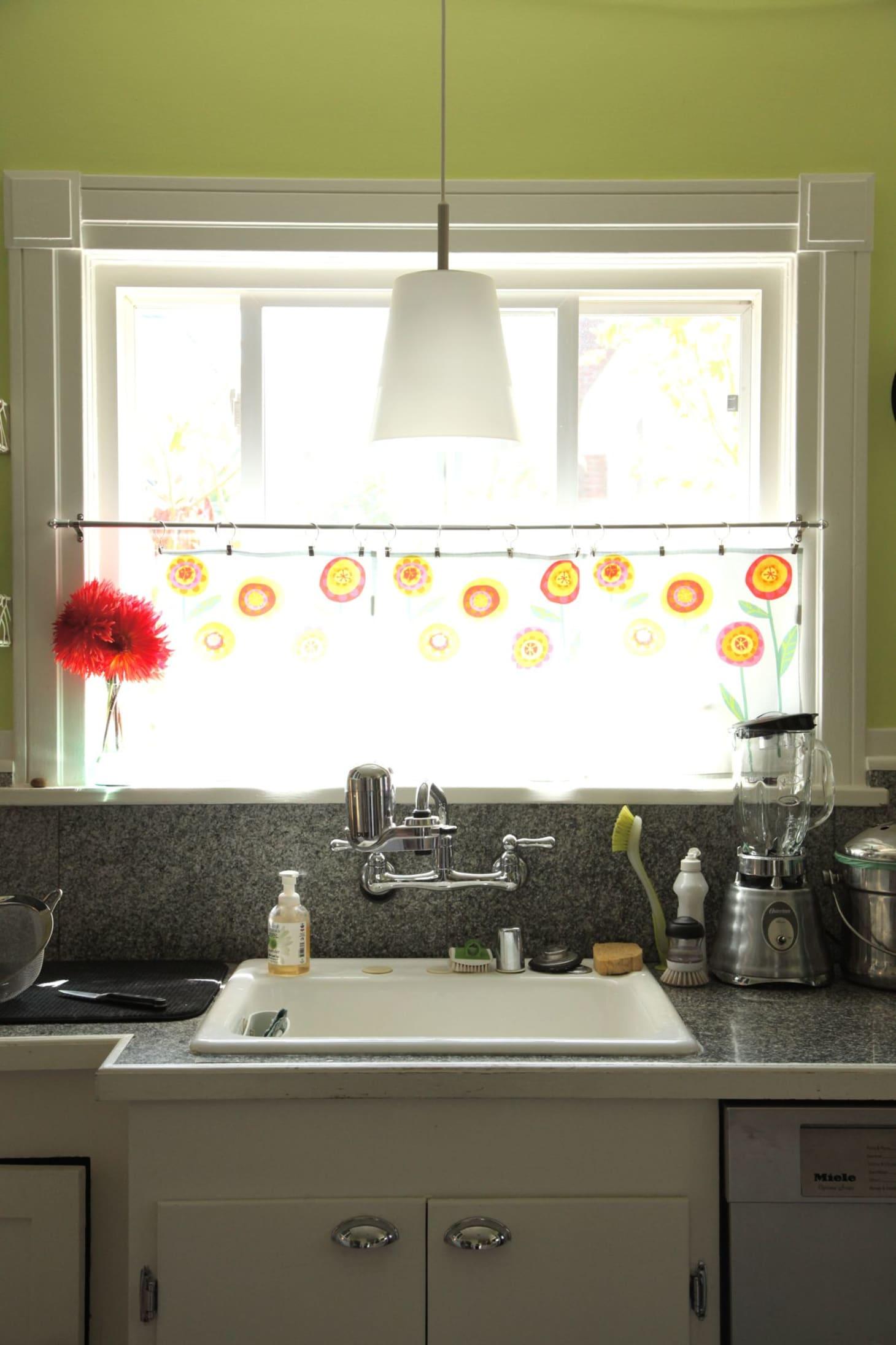 Mari Amp Adam S Colorful Craftsman Kitchen Kitchn