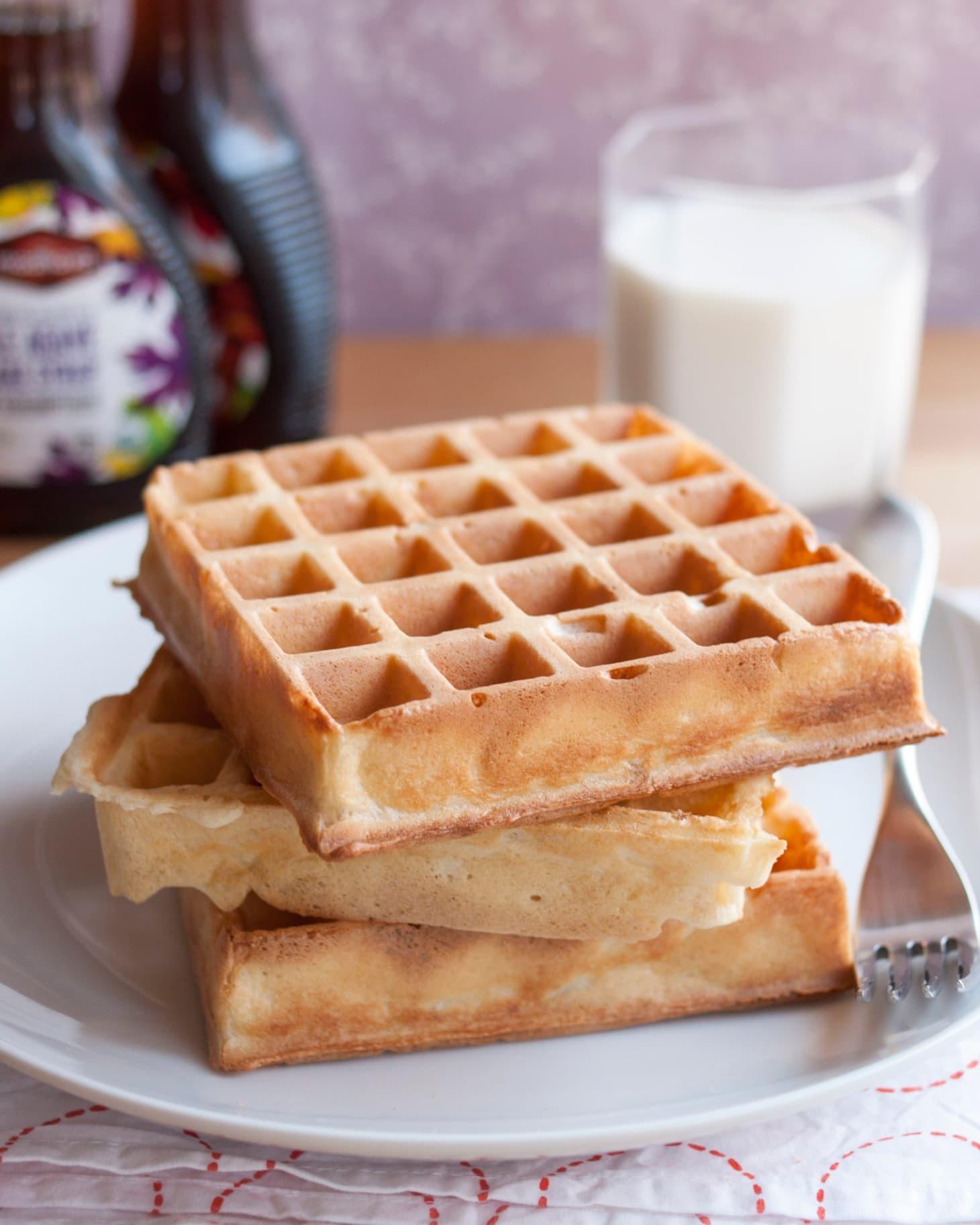 Smitten Kitchen Waffles: Recipe: Overnight Yeasted Waffles
