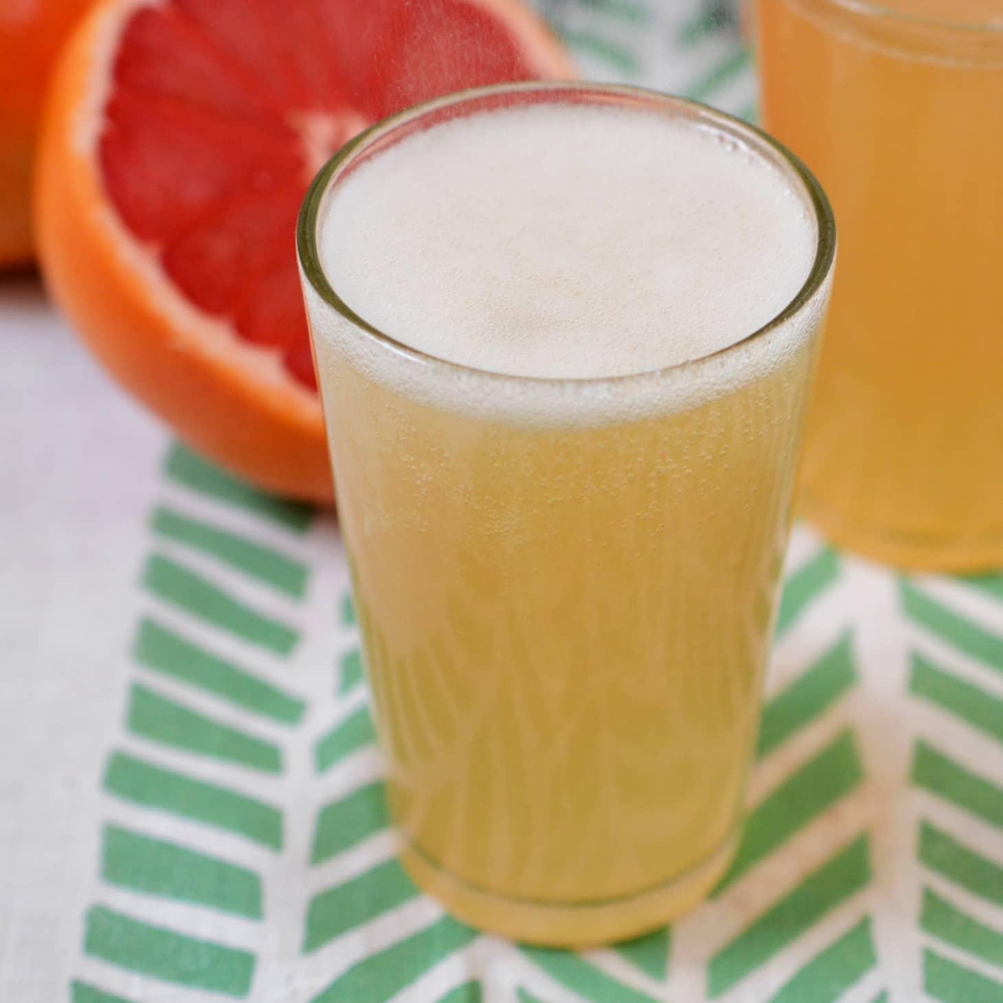 Grapefruit Honey Ginger Soda Syrup