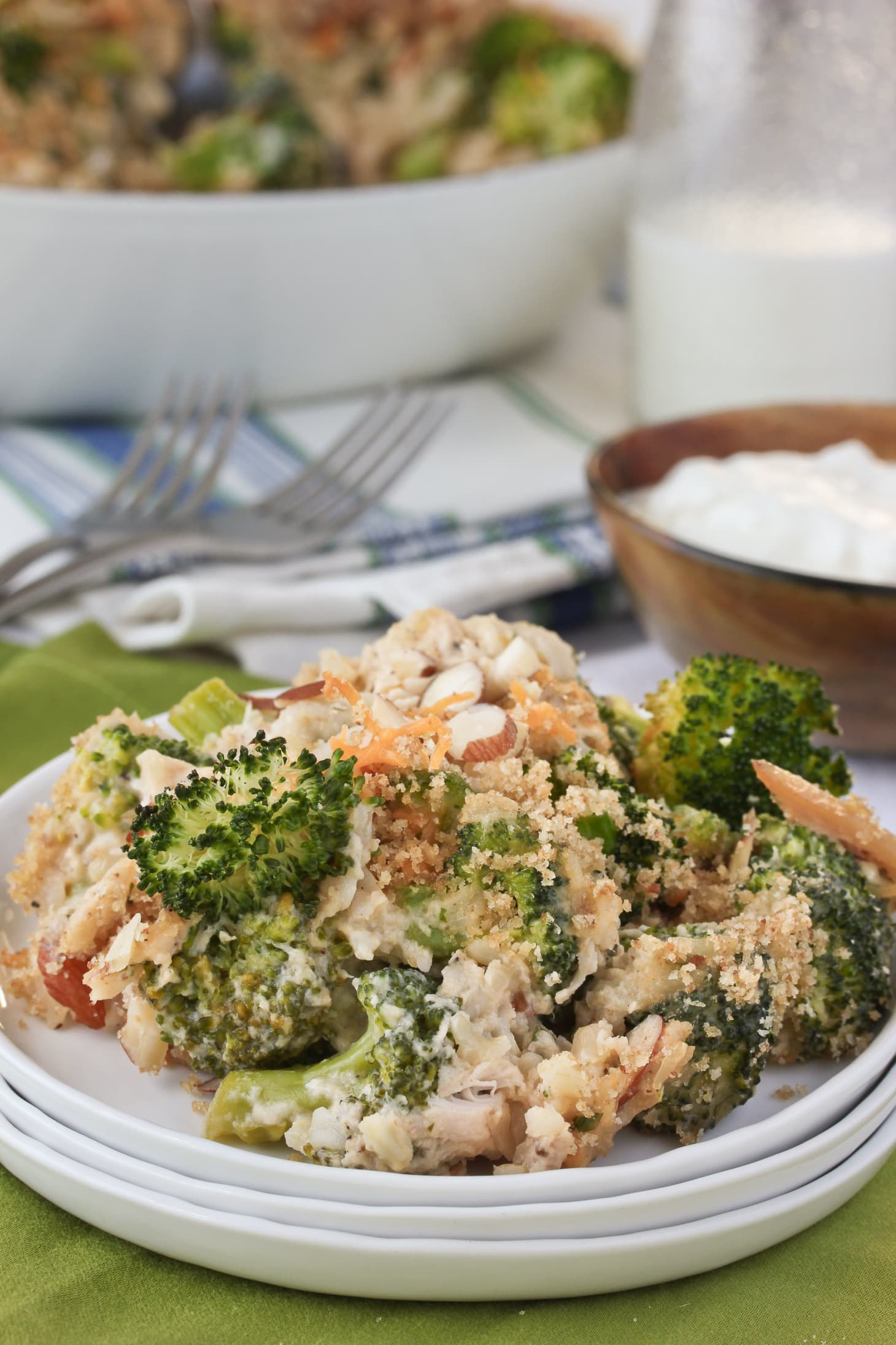 Recipe Chicken, Broccoli And Brown Rice Casserole  Kitchn-7436