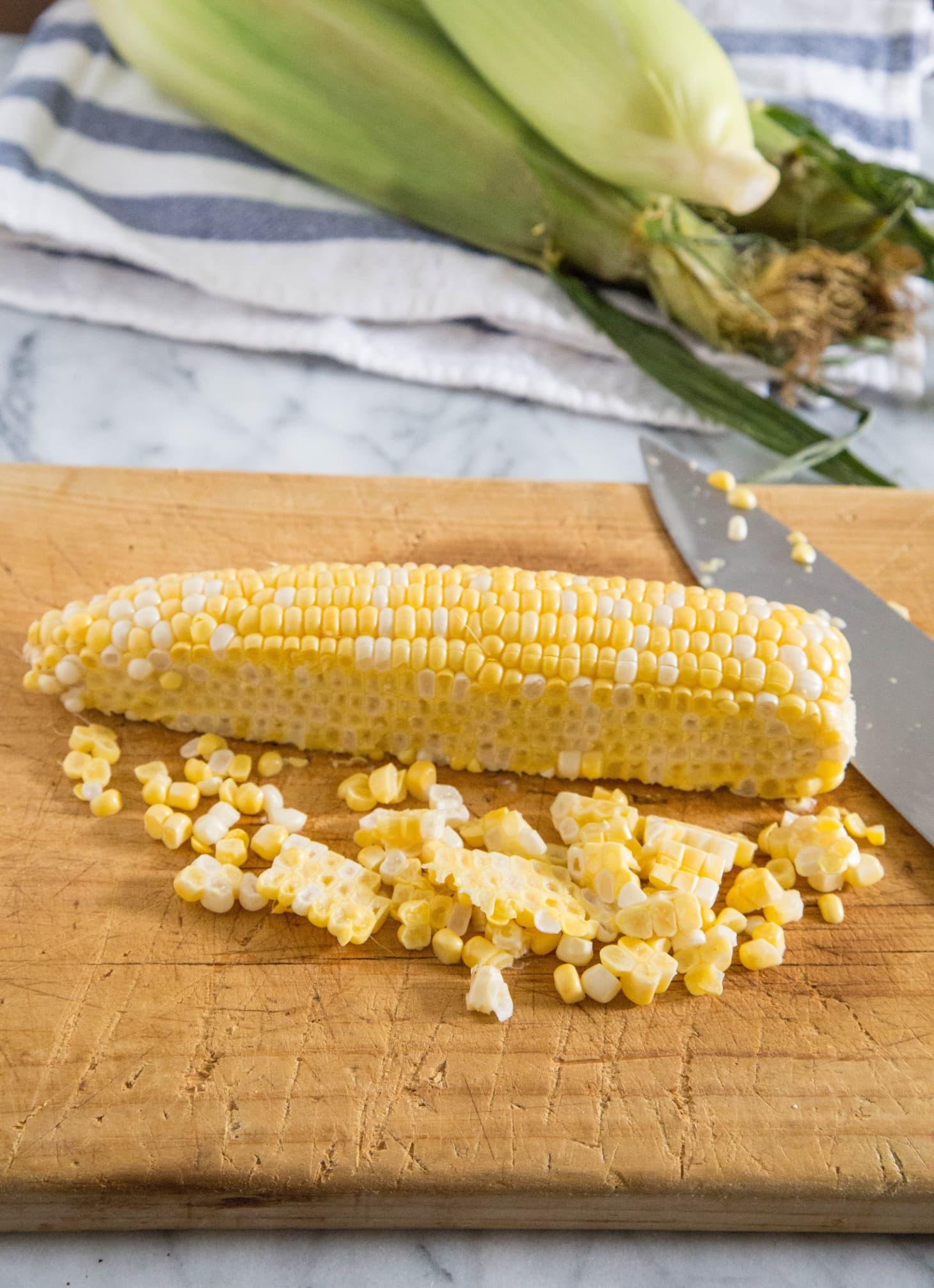 3 Mess-Free Ways to Cut Corn off the Cob | Kitchn
