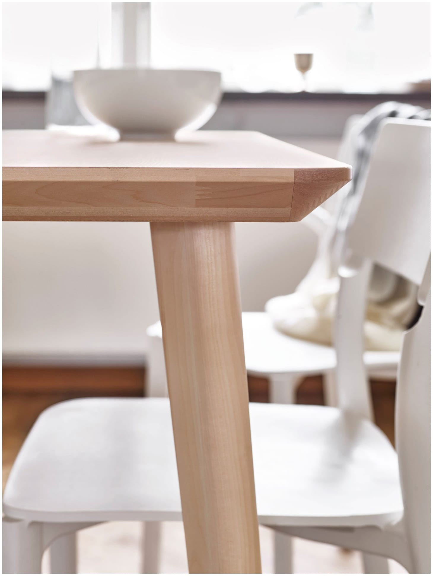 Enjoyable Ikeas Cleanest Simplest Dining Table Kitchn Download Free Architecture Designs Rallybritishbridgeorg