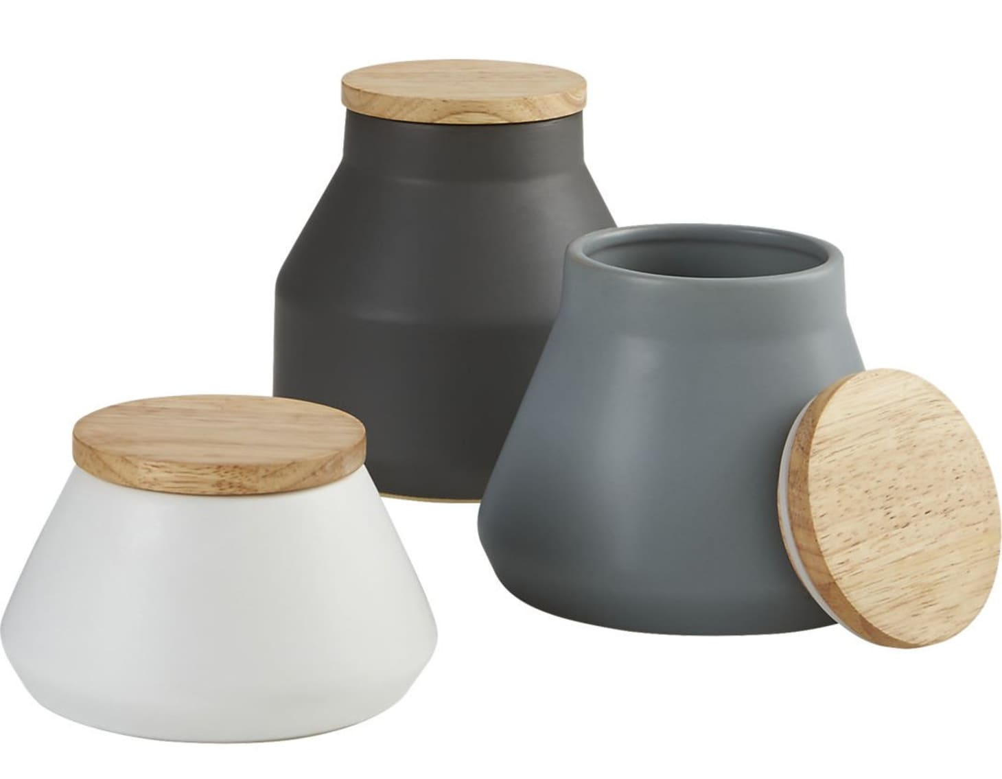 Stoneware Canisters for Storing (and Hiding) Your Kitchen ...