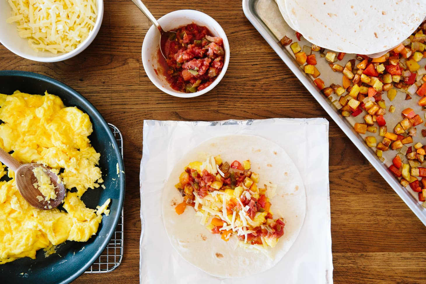 Auto Credit Post Falls >> How To Make Freezer Breakfast Burritos | Kitchn