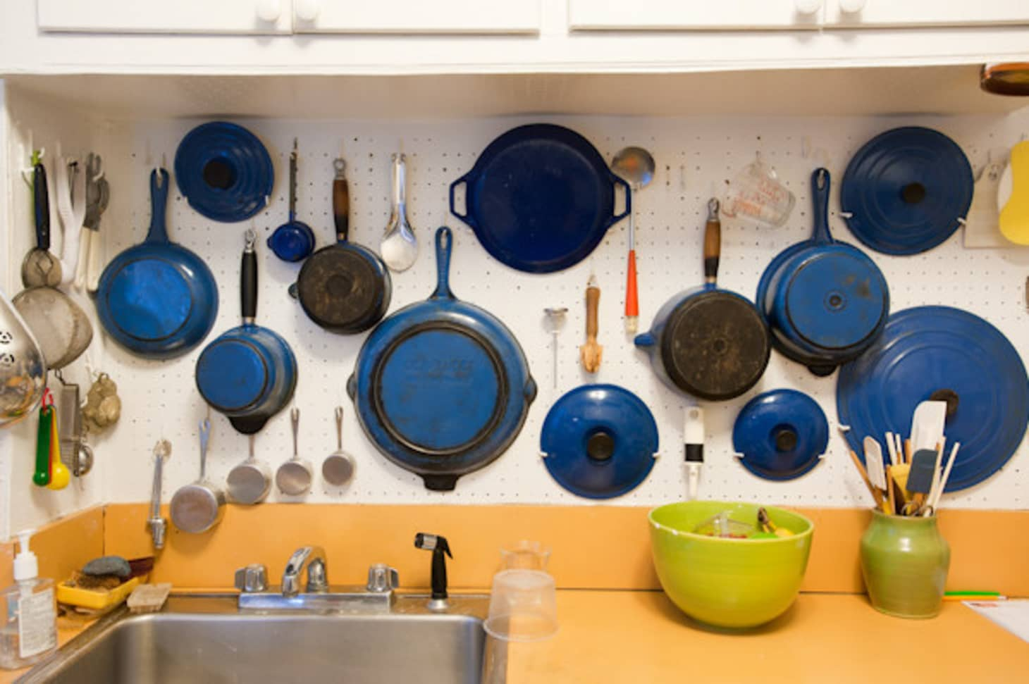 How To Hang a Kitchen Pegboard