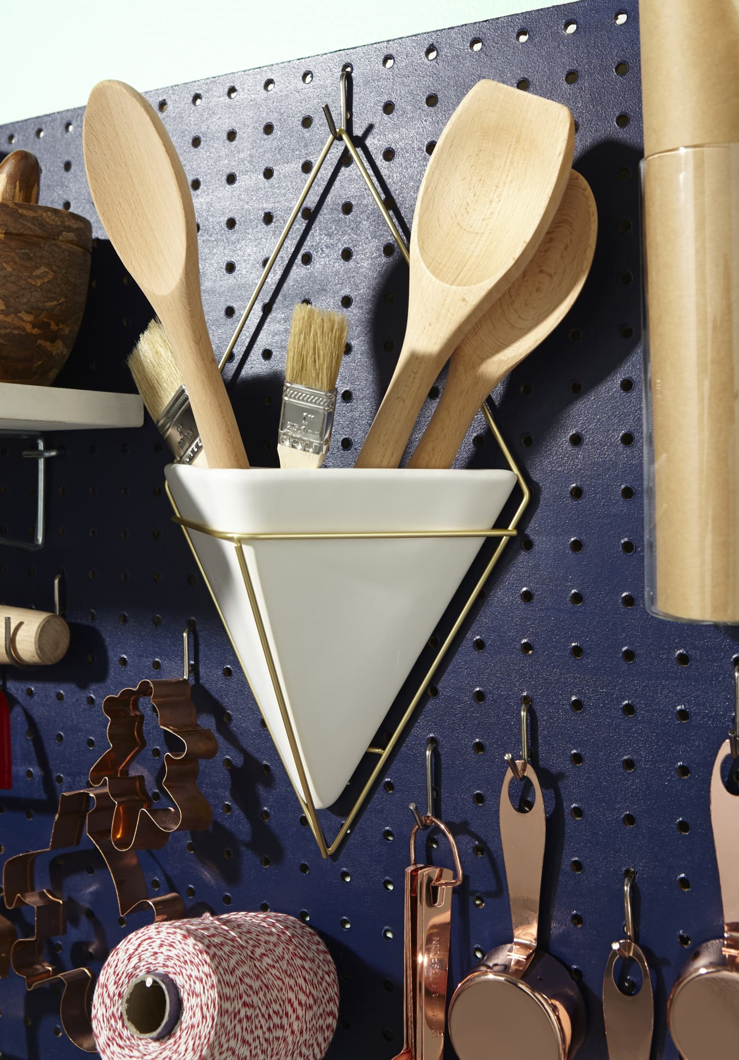 Use A Pegboard To Store All Your Baking Gear Kitchn