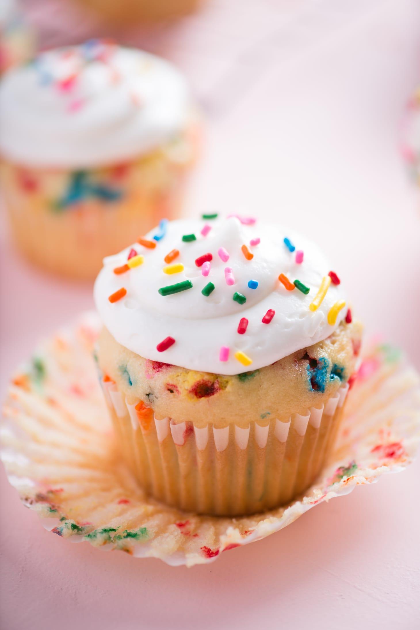 One-Bowl Funfetti Cupcakes
