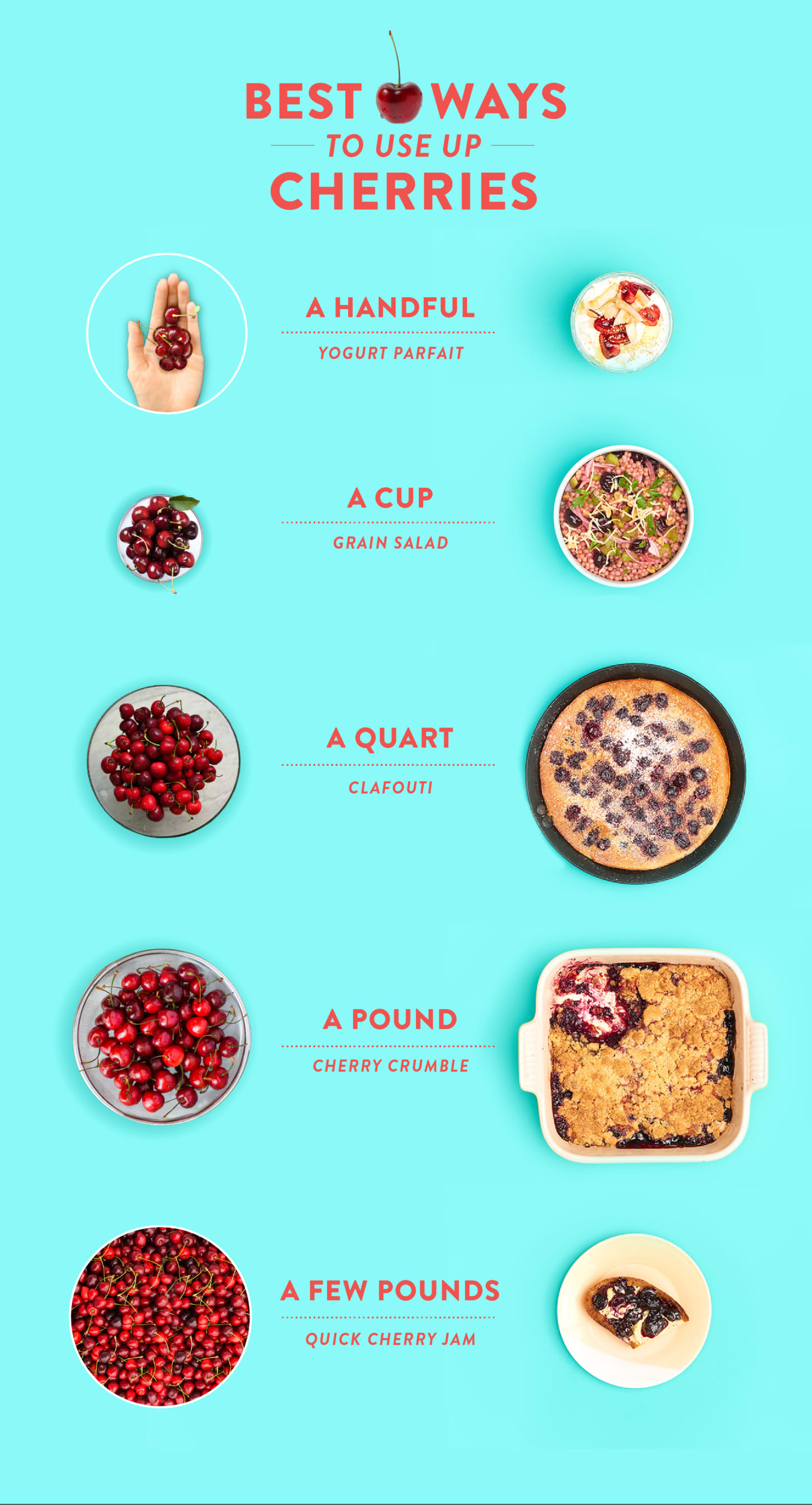 The Best Way to Use a Cup to a Pound of Cherries | Kitchn
