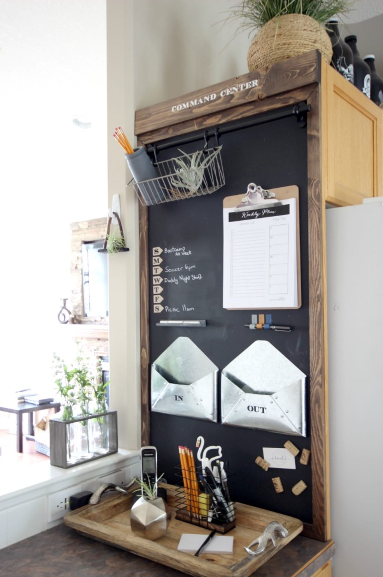 3 Kitchen Command Centers To Organize Your Family Kitchn