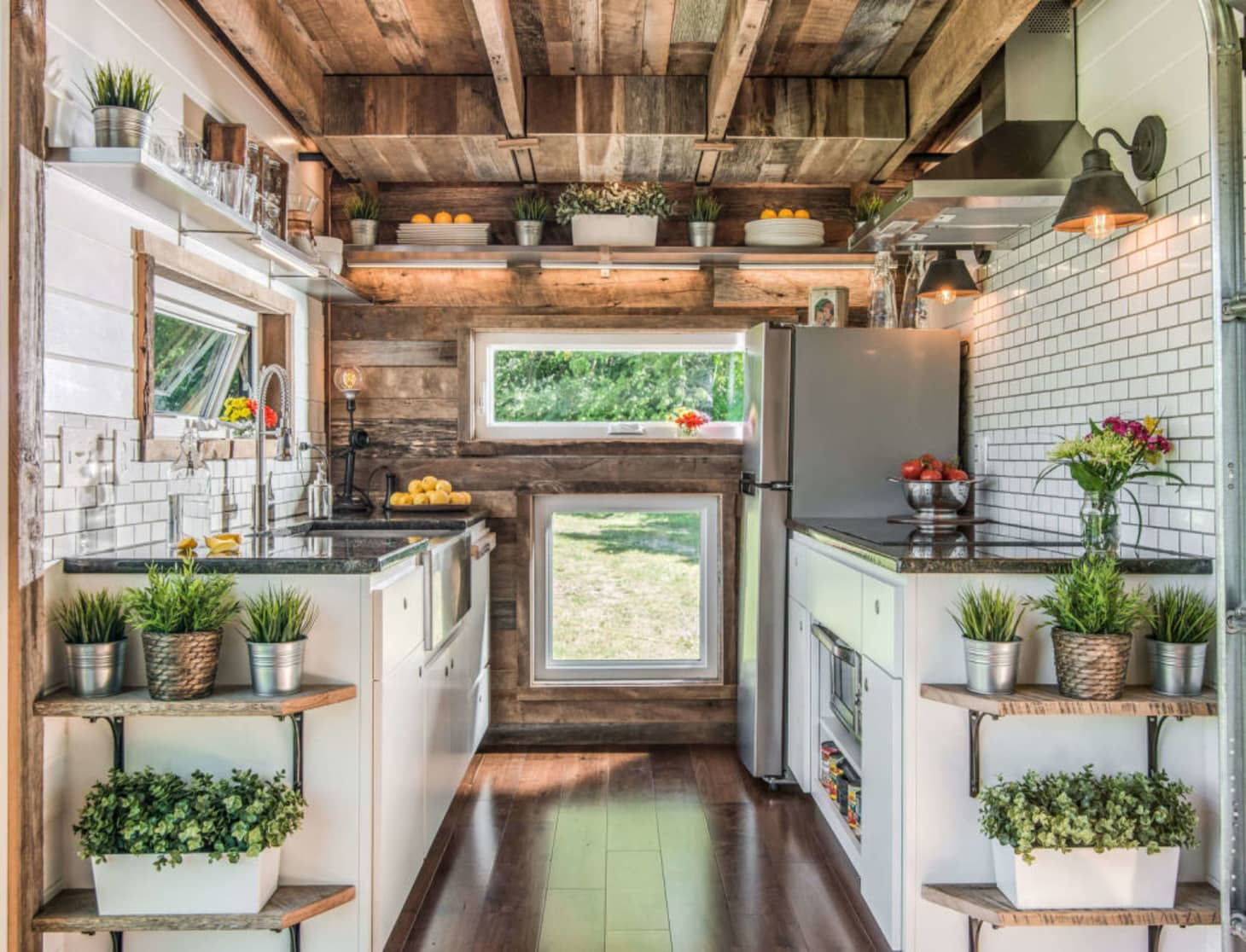 7 Kitchen Storage Ideas To Steal From Tiny Houses Kitchn