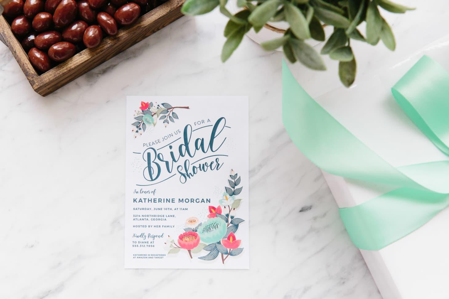 Bridal Shower Ideas Invitations Menu Themes Kitchn