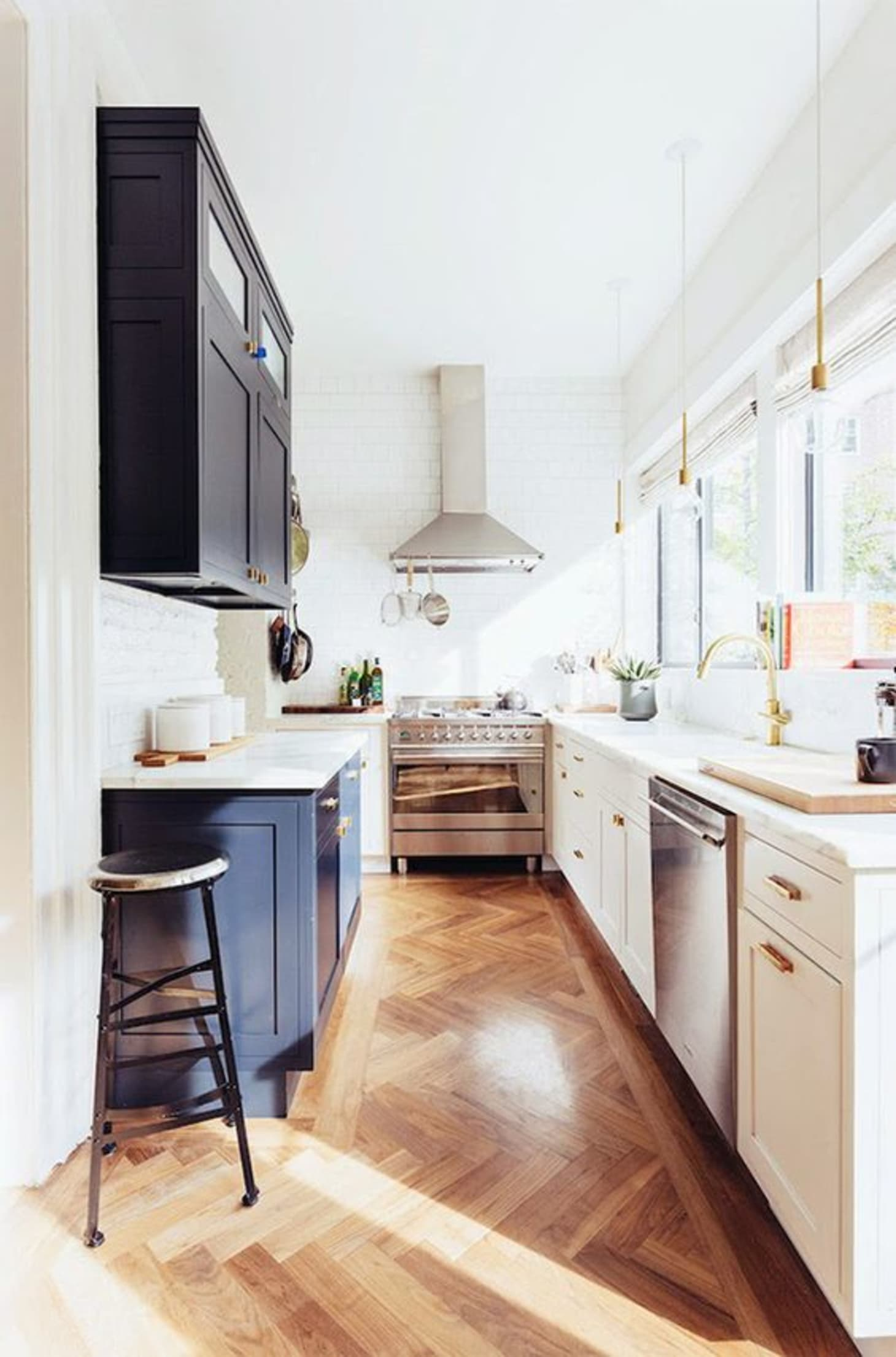 Galley Kitchen Inspiration - Design Decorating | Kitchn on