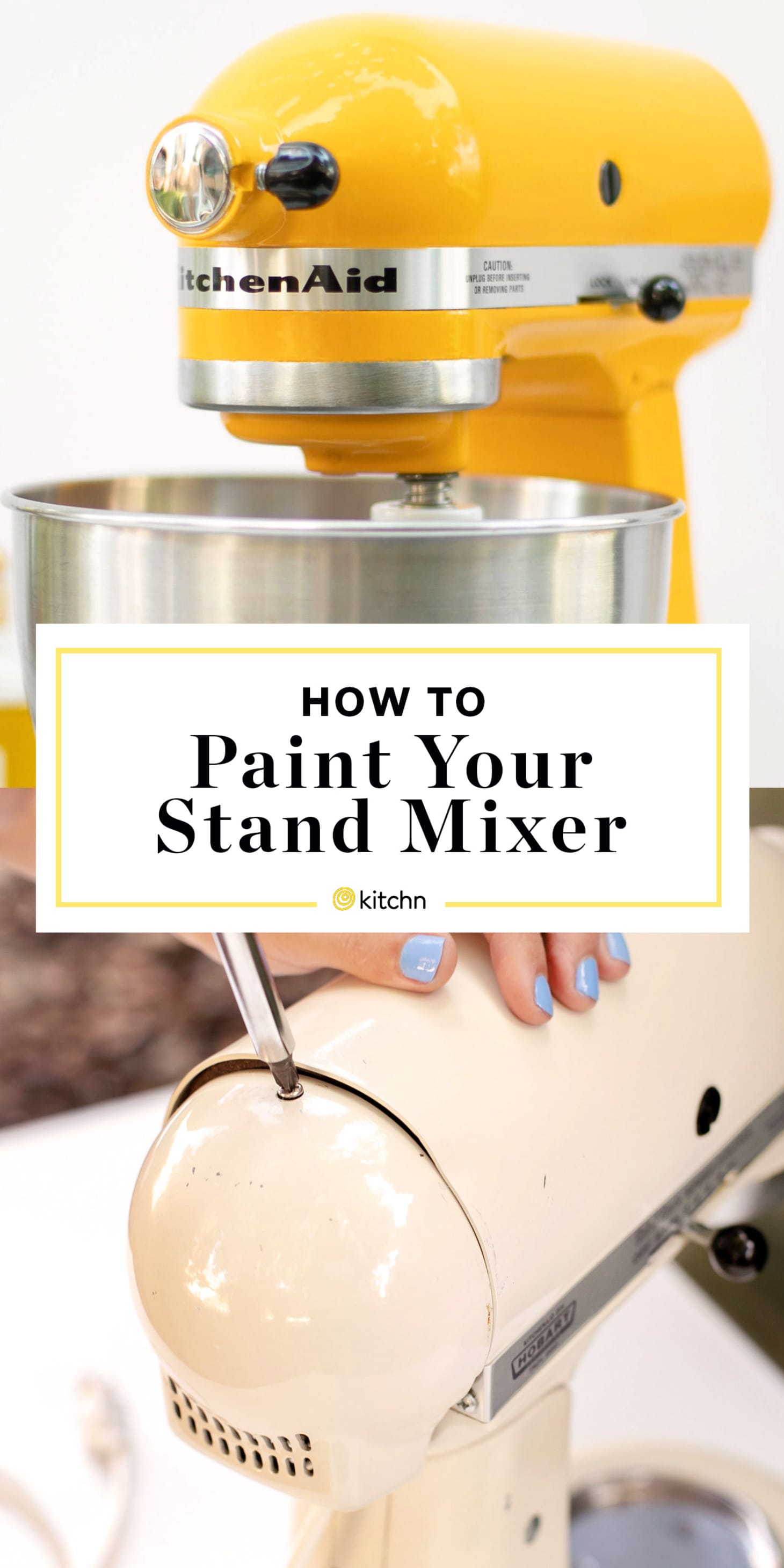 How To Paint a KitchenAid Stand Mixer | Kitchn