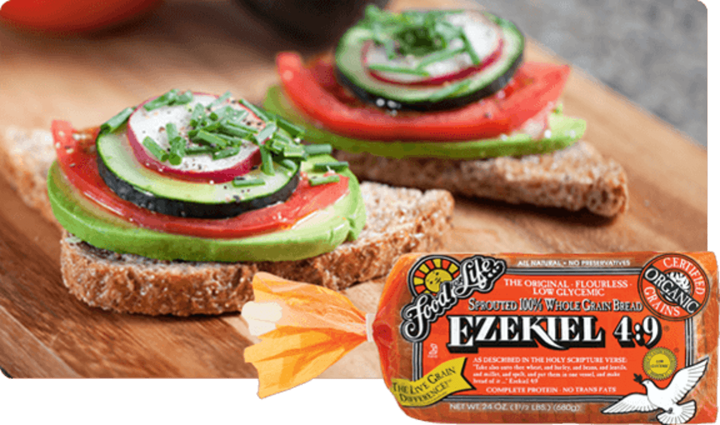 Ezekiel Bread - Review Nutrition Facts   Kitchn