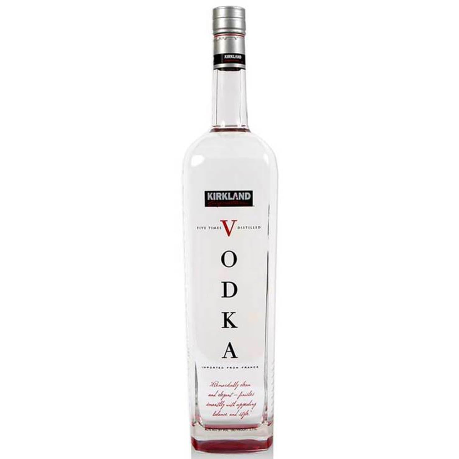 Costco Kirkland Vodka - Alcohol Booze Spirits | Kitchn