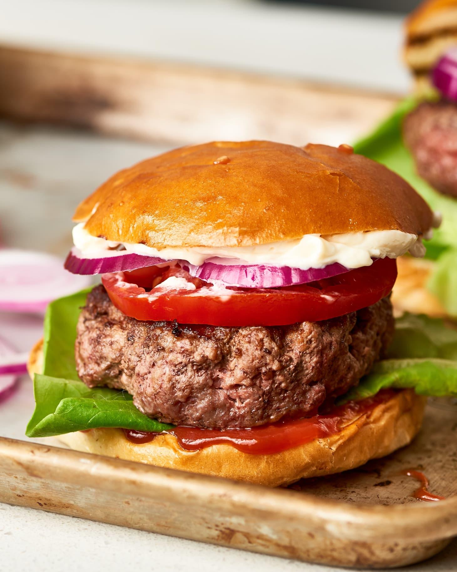 How To Make the Juiciest Burger Patties