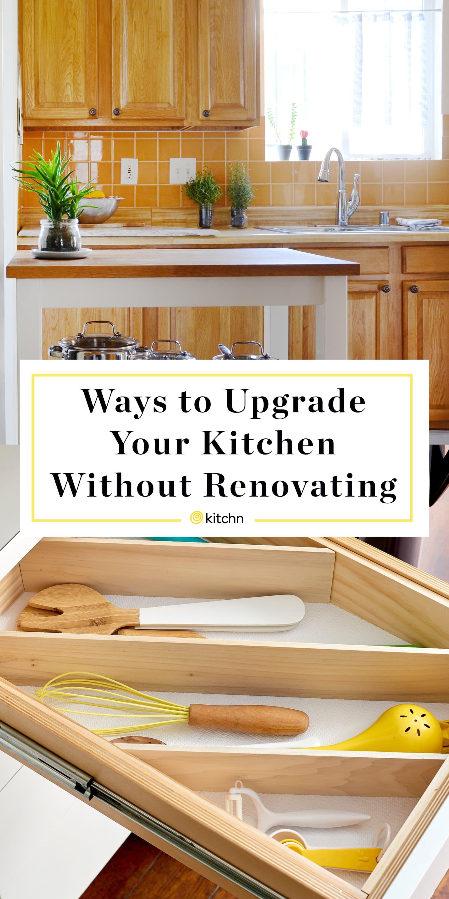 Easy Kitchen Updates - Cheap No Renovating   Kitchn