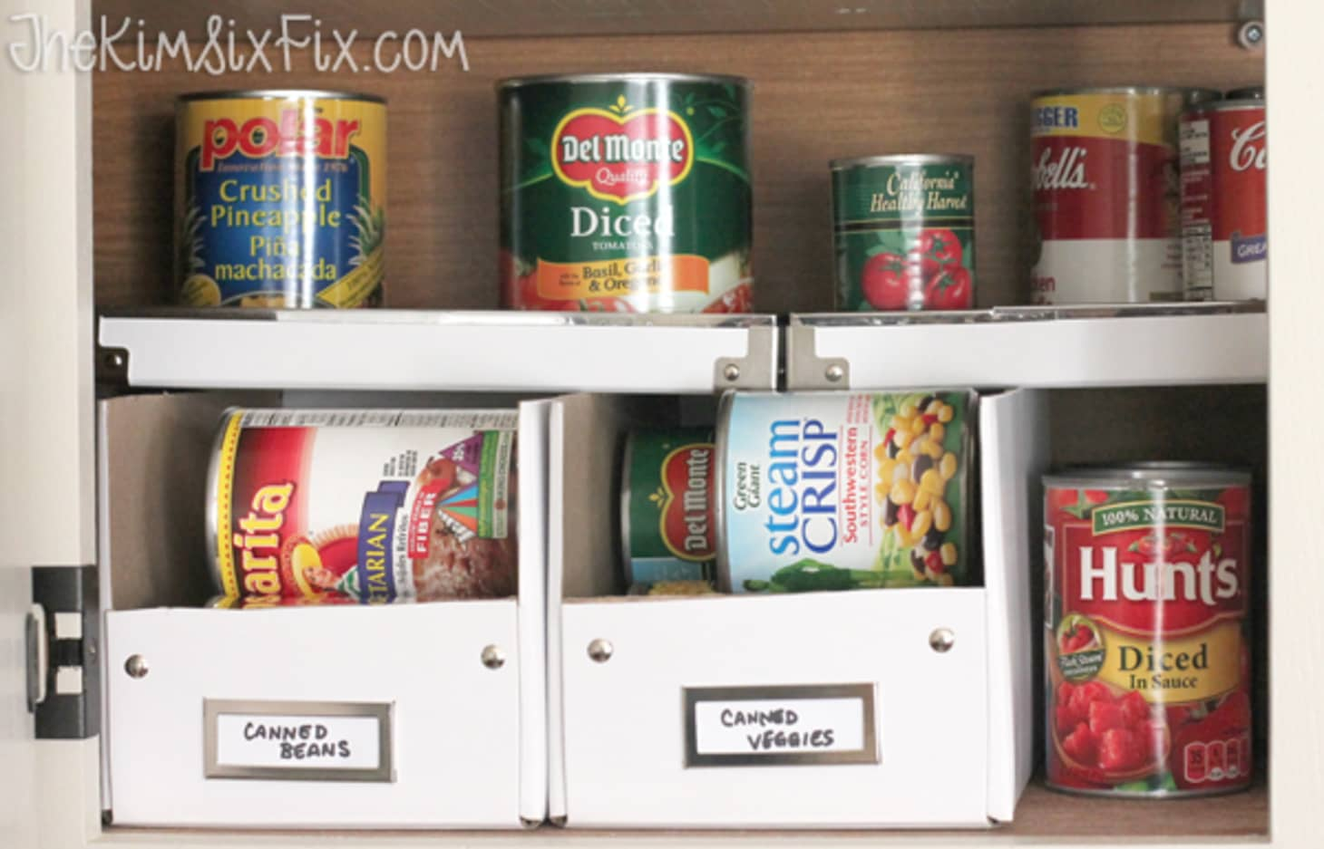 Ideas For Organizing Canned Goods | Kitchn