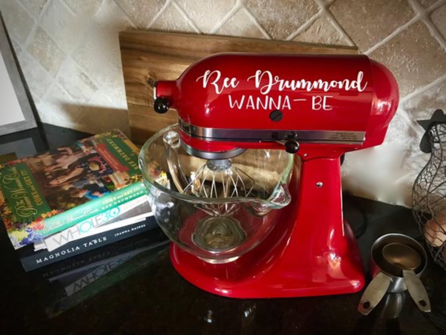 Pioneer Woman Kitchenaid Stand Mixer Decals Etsy Kitchn