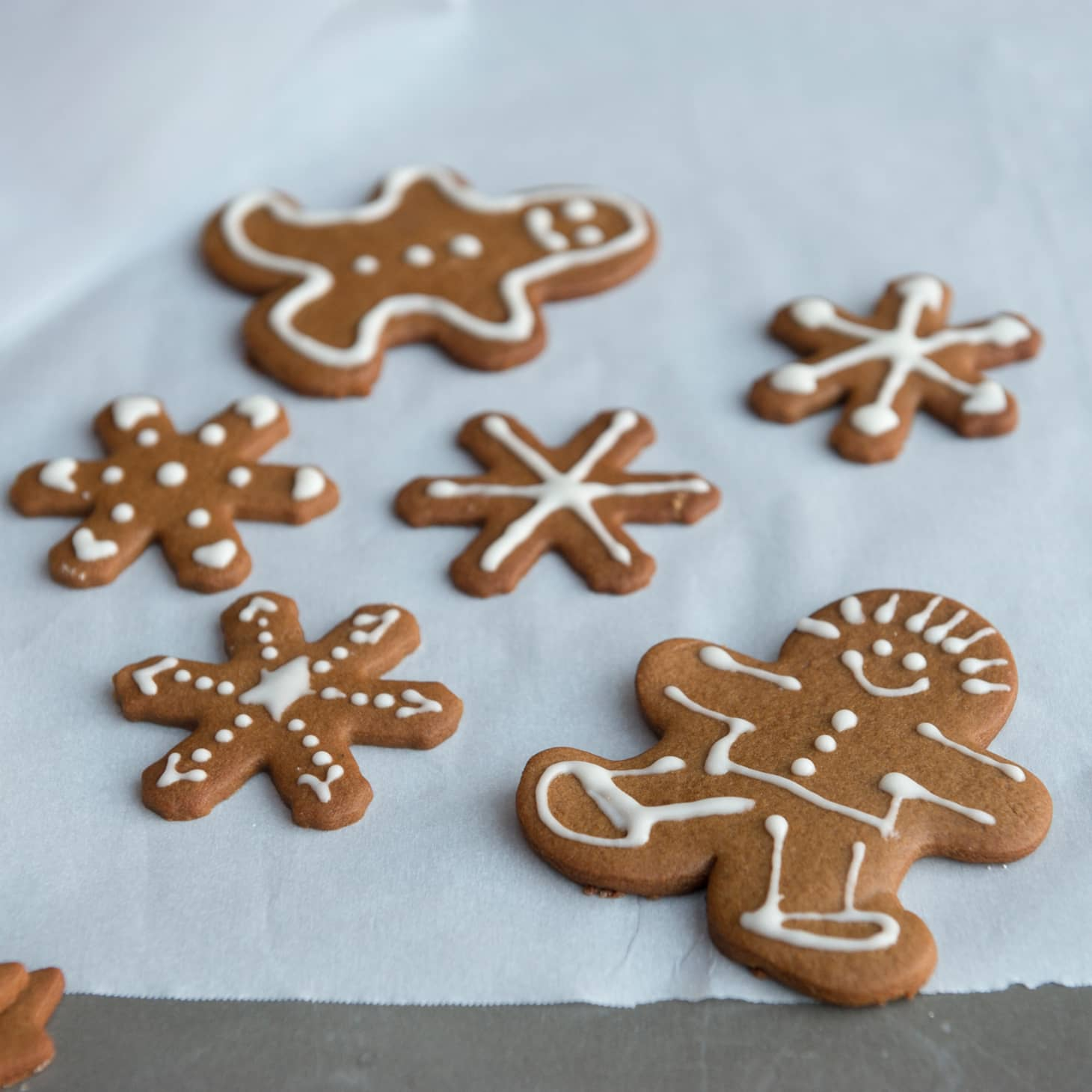 Classic Gingerbread Cut Out Cookies