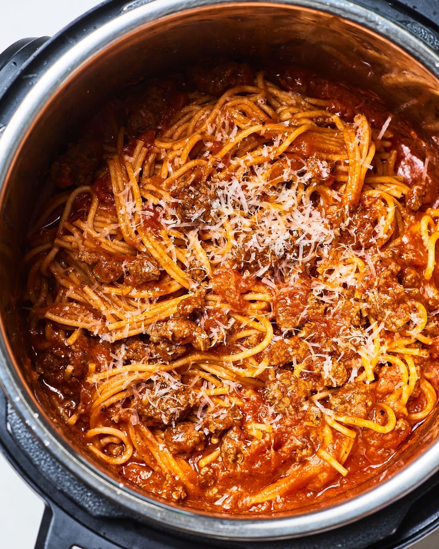Instant Pot Chicken Alfredo Pasta Recipe