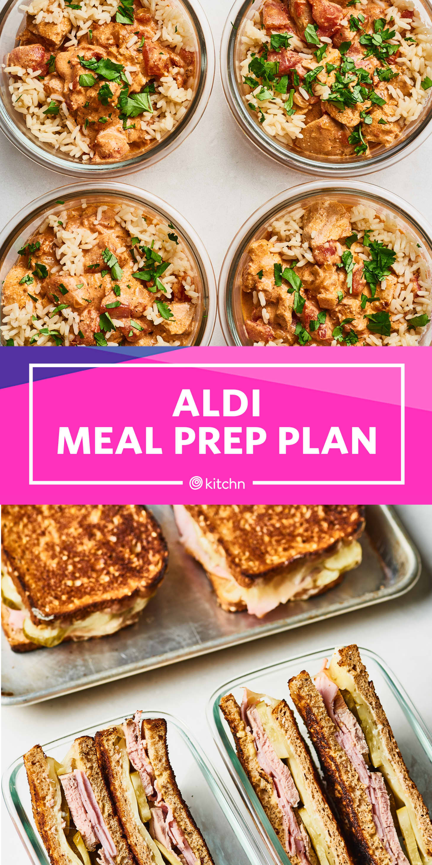 Easy Meal Prep Plan with Aldi Ingredients   Kitchn