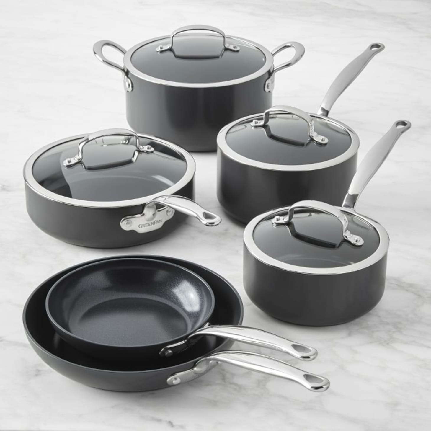 Best Cookware Set 2020.Best Cookware Sets Stainless Steel Nonstick Cast Iron