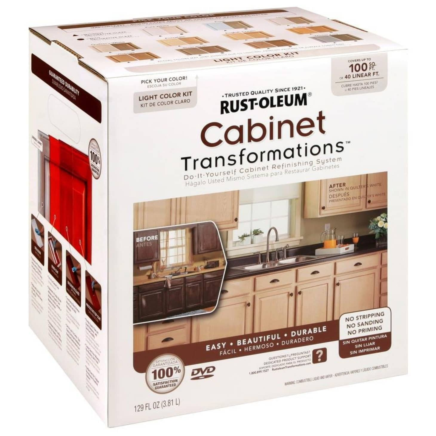 Rust-Oleum Cabinet Refinishing Kit | Apartment Therapy