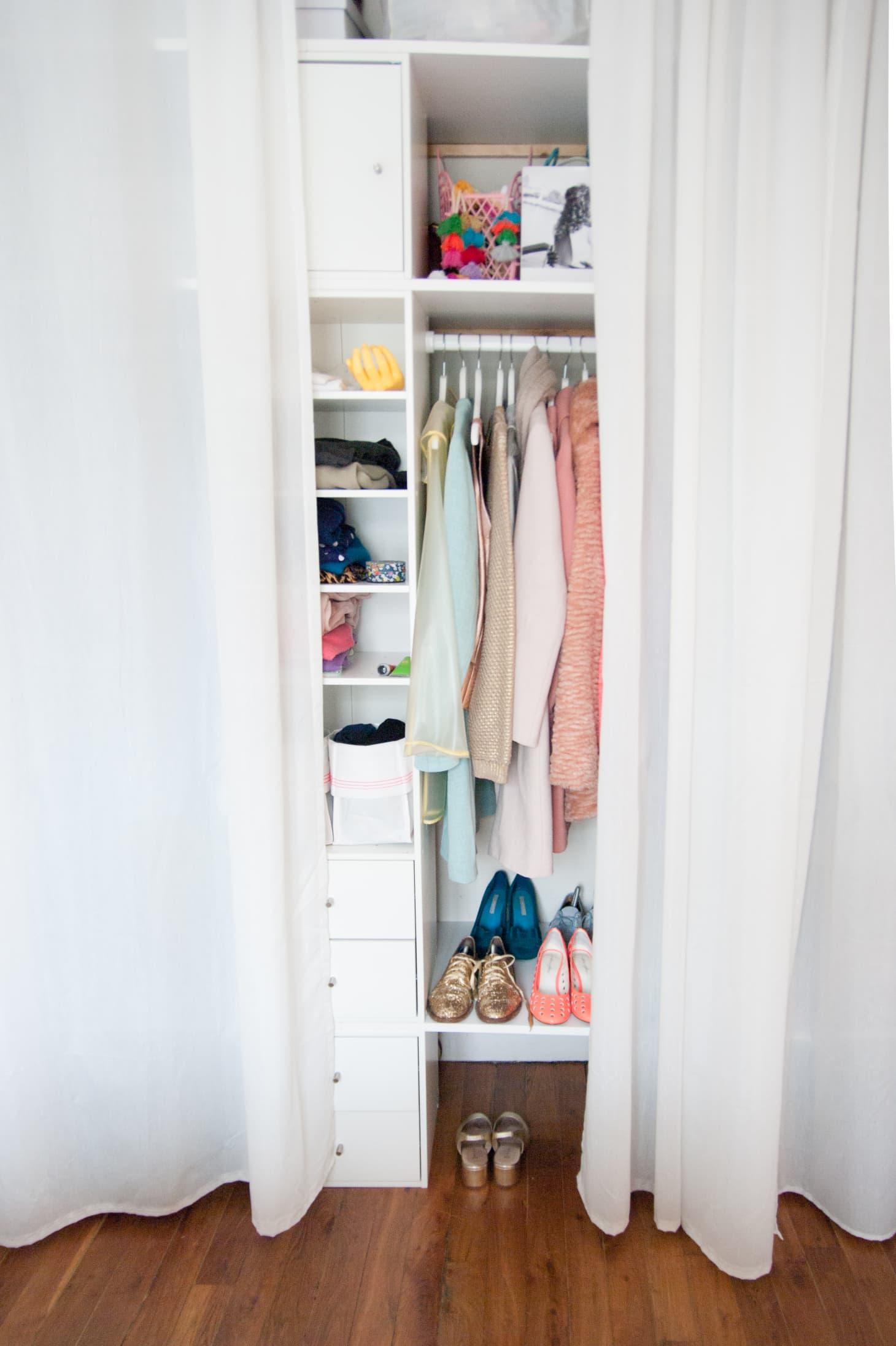 Closet storage ideas small closet organization - Small closet storage ideas ...