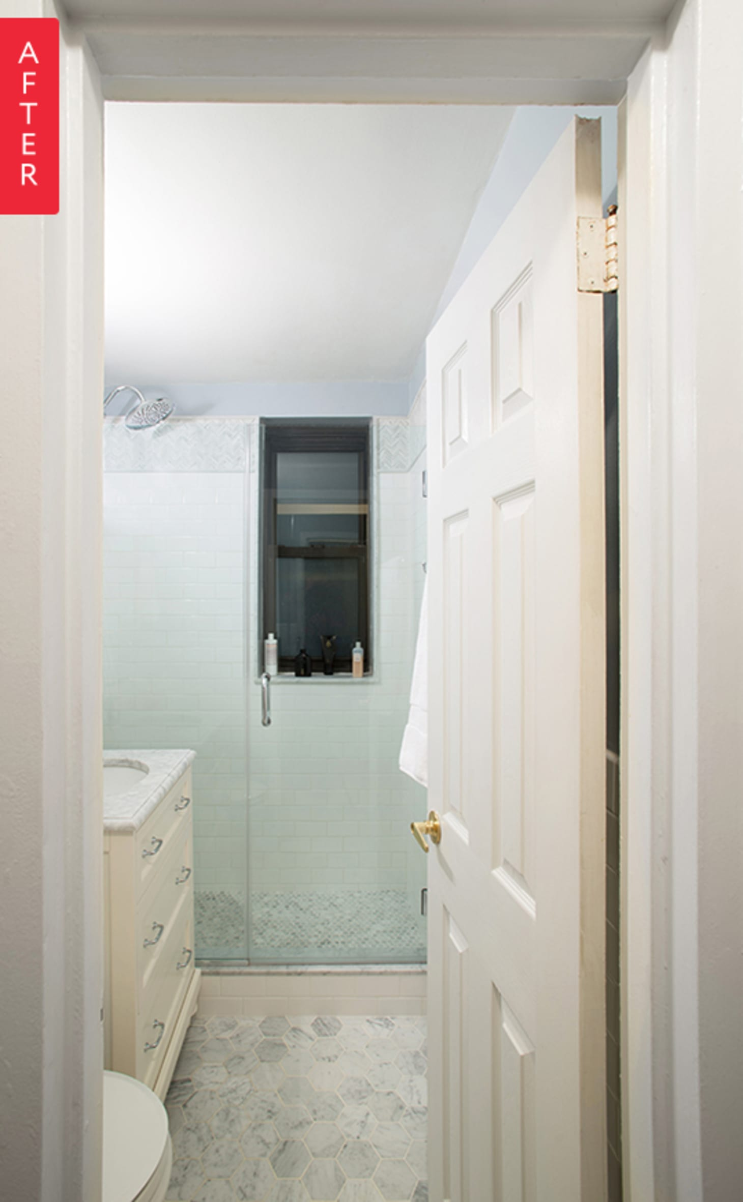 Before Amp After An Upper East Side Bathroom Transformation Apartment Therapy