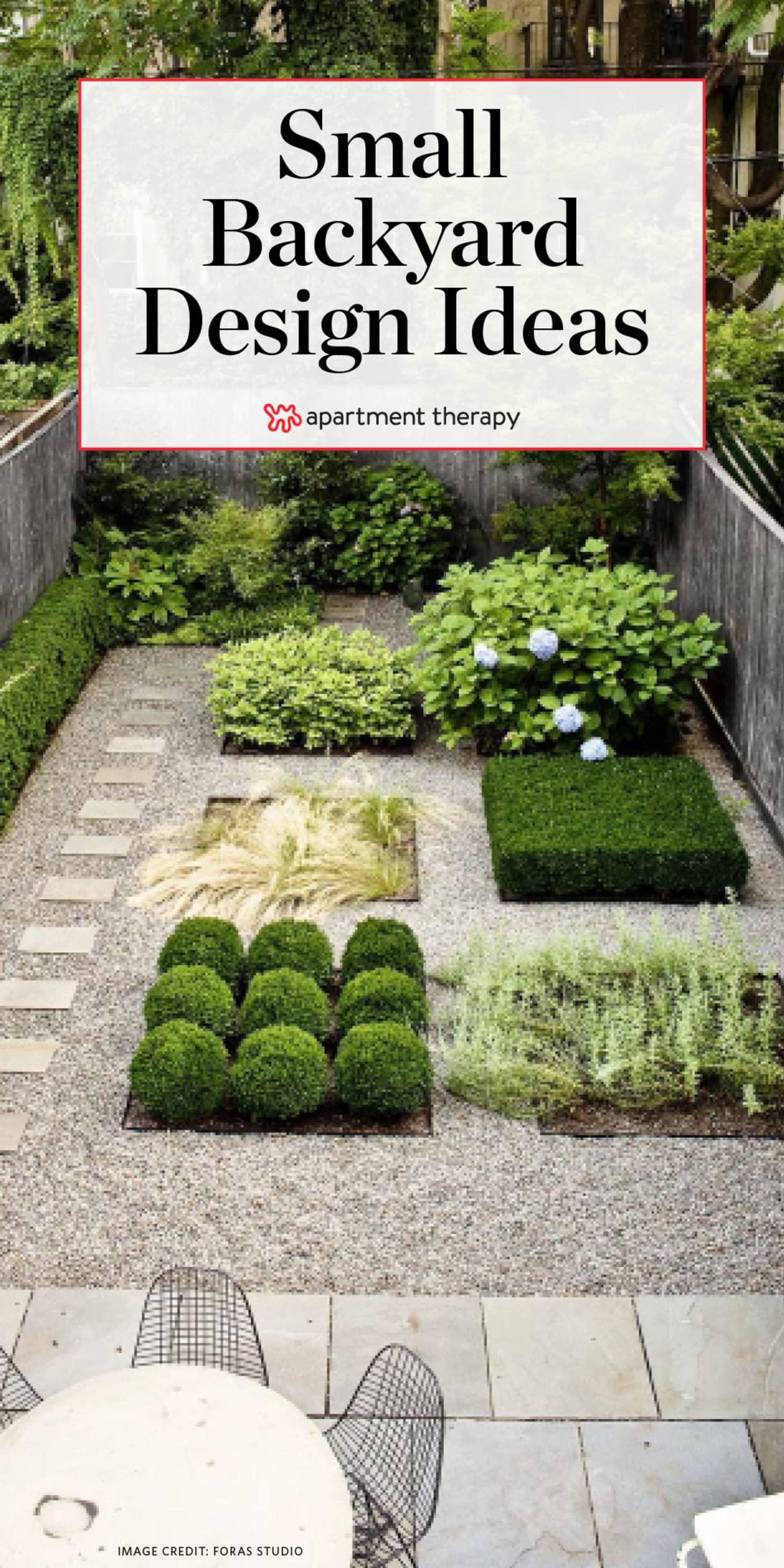 Small Backyard Design Ideas & Inspiration | Apartment Therapy on Apartment Backyard Patio Ideas id=22006