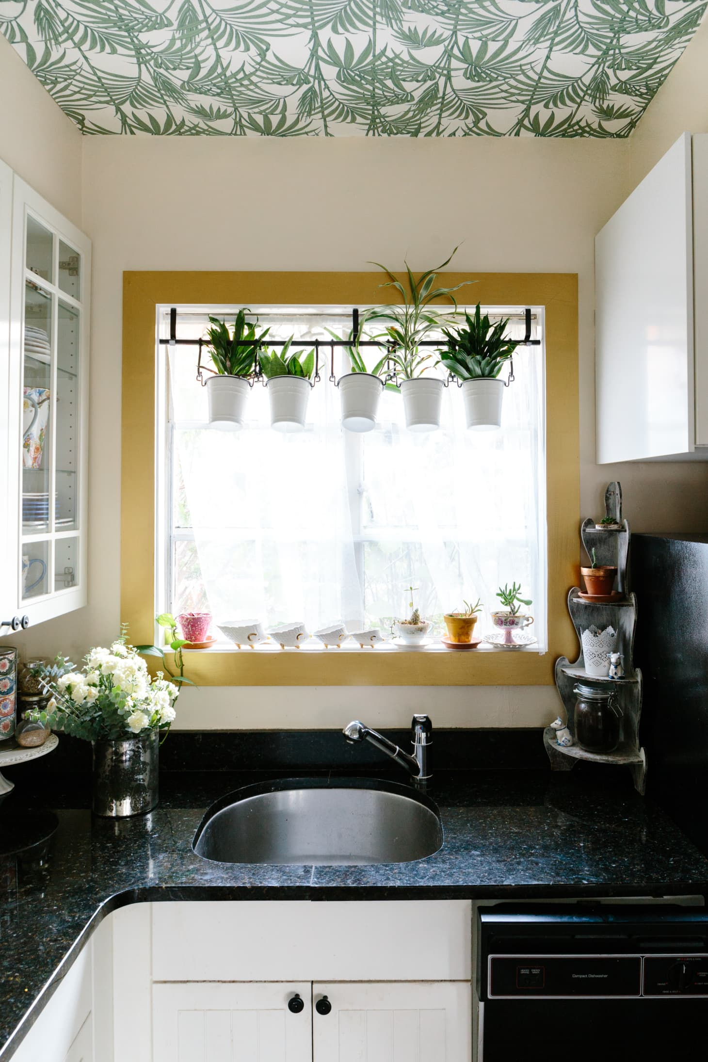 Interiors With Bright Painted Window Frames Apartment
