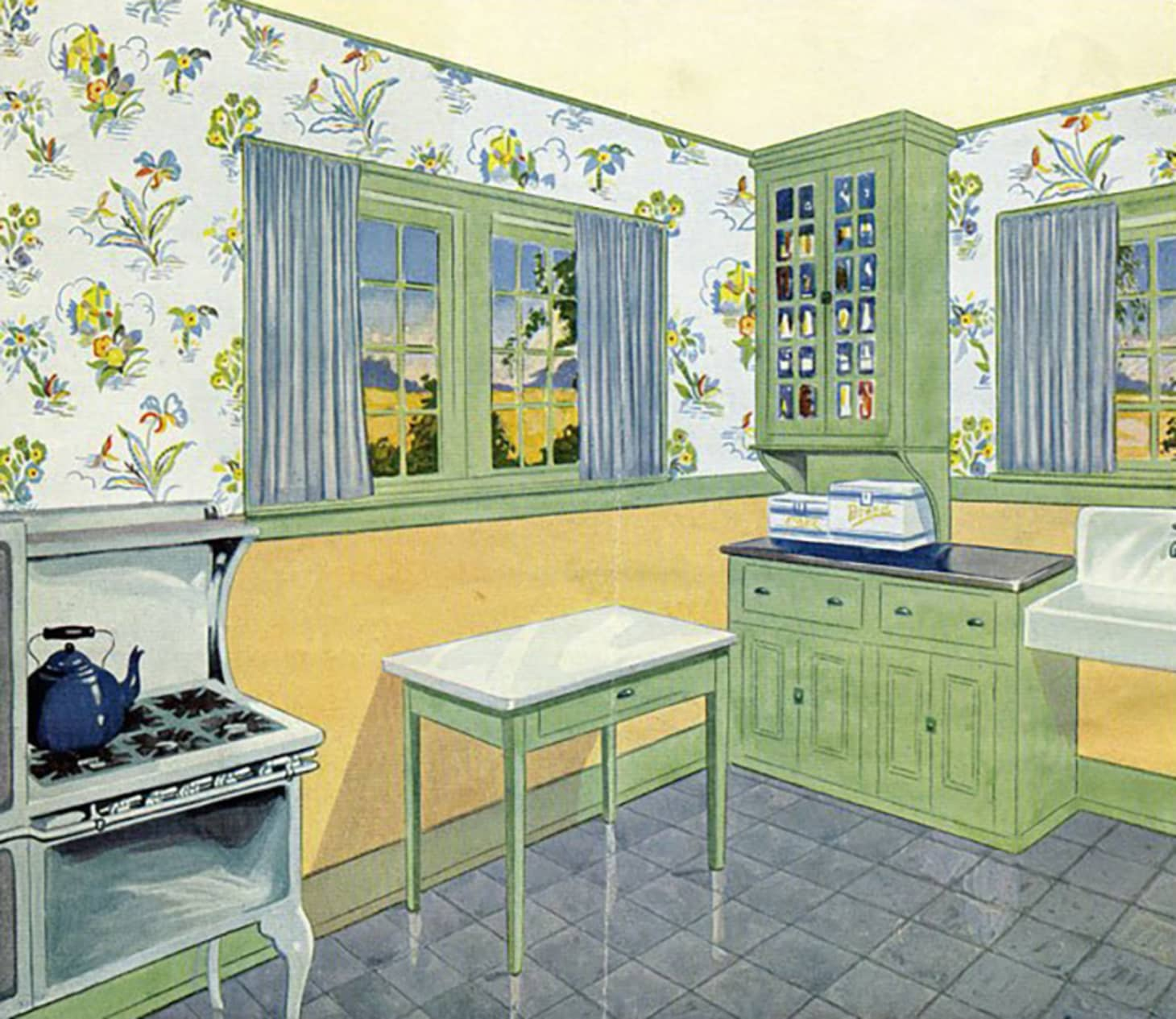 A Brief History of Kitchen Design from 1900 to 1920 ...