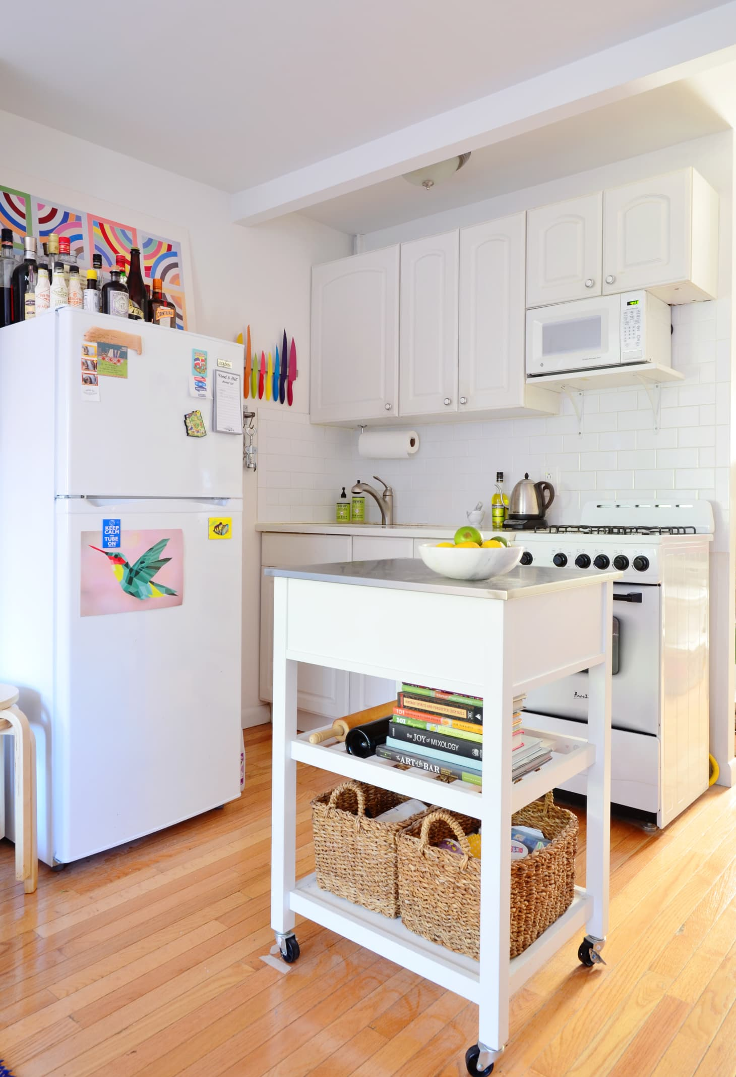 Small Kitchen Storage Solutions | Apartment Therapy