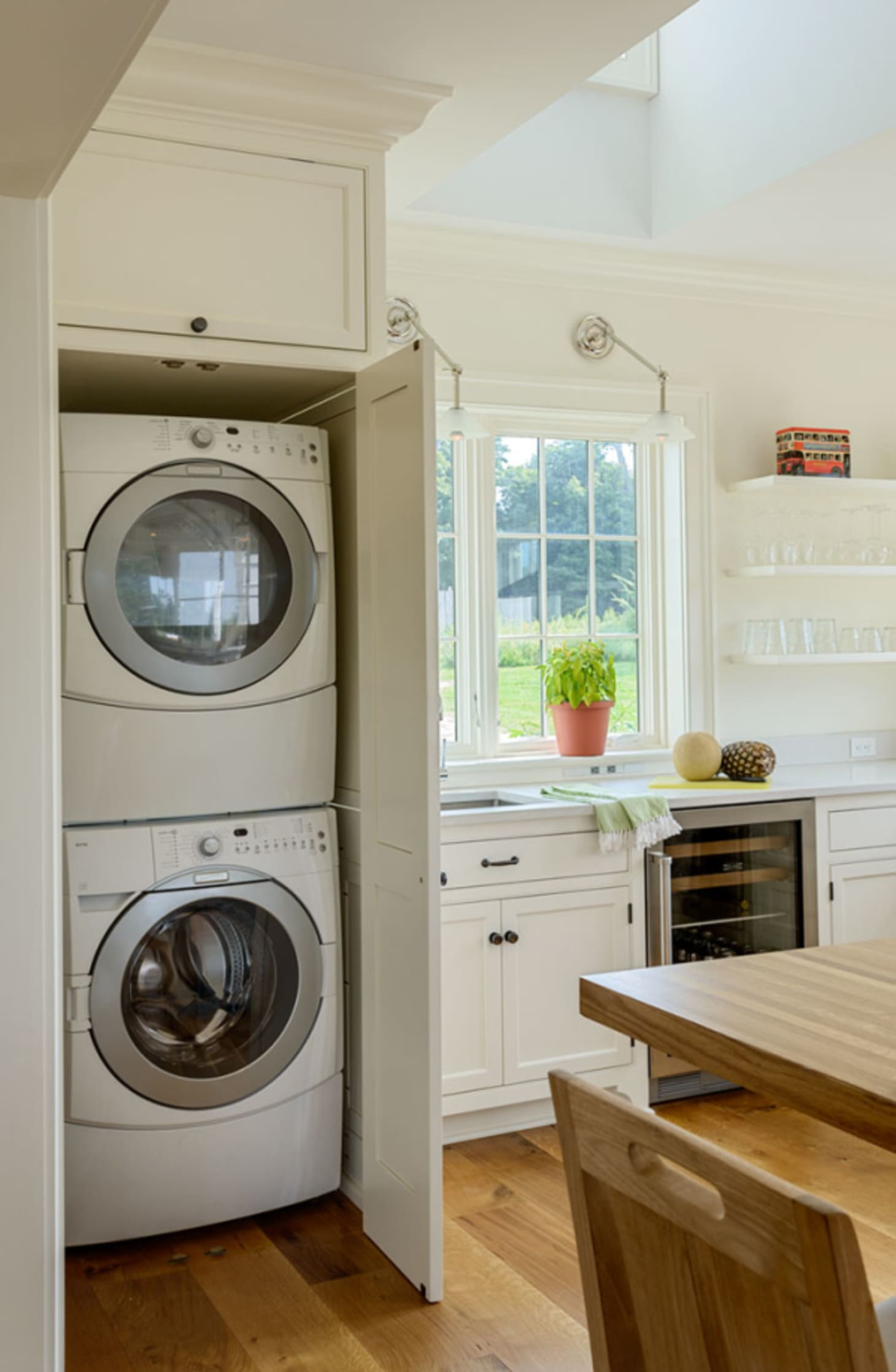 Small Laundry Room Remodeling Ideas | Apartment Therapy on Small Space Small Bathroom Ideas With Washing Machine id=15614
