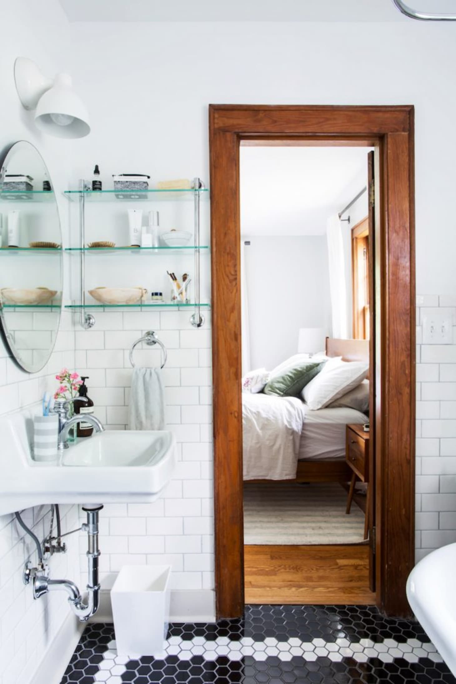 Small Bathroom Best Wall Shelves Storage Ideas | Apartment ... on Small Apartment Bathroom Storage Ideas  id=64731