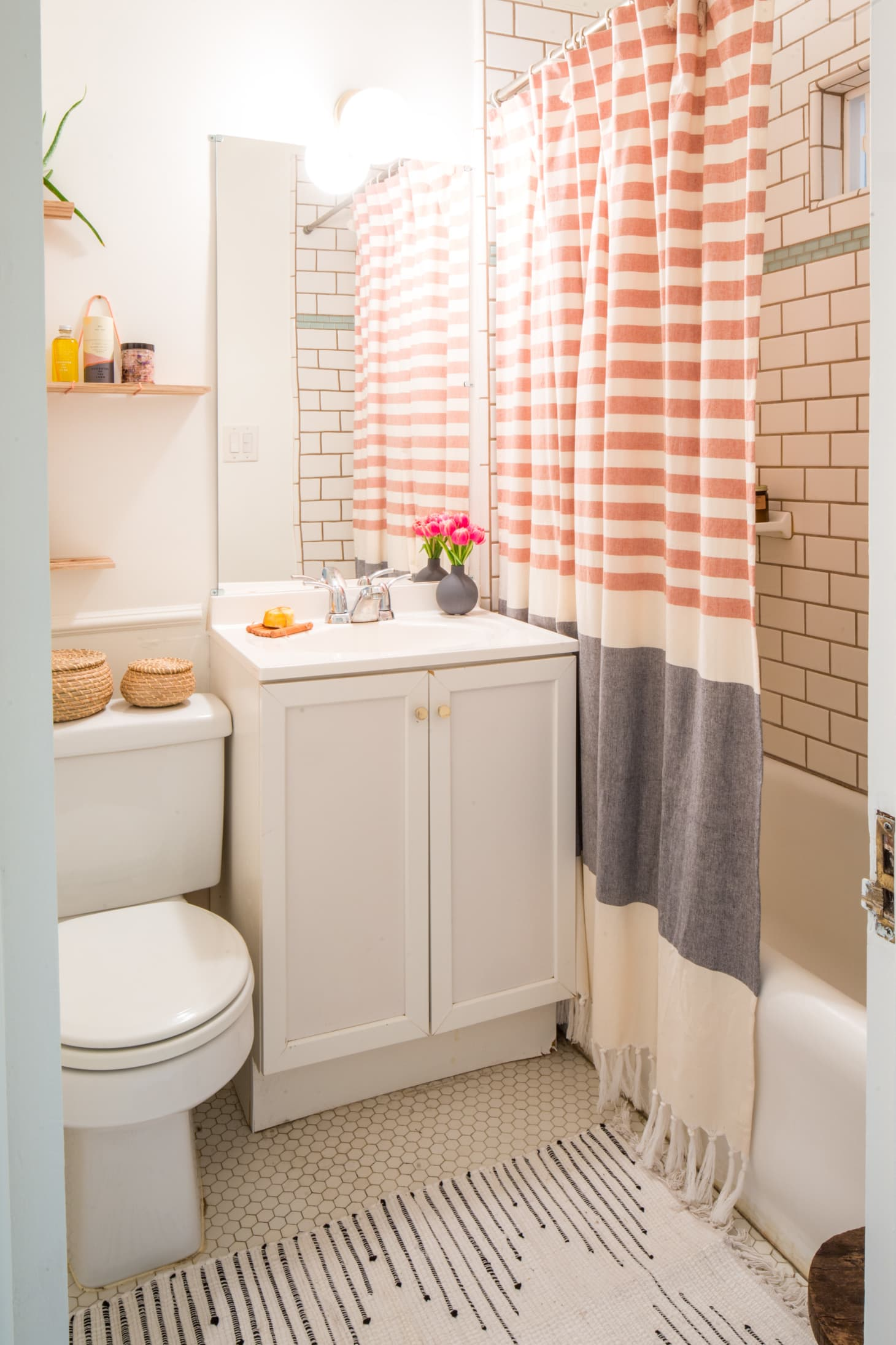 25 Small Bathroom Storage & Design Ideas - Storage ... on Small Apartment Bathroom  id=16966