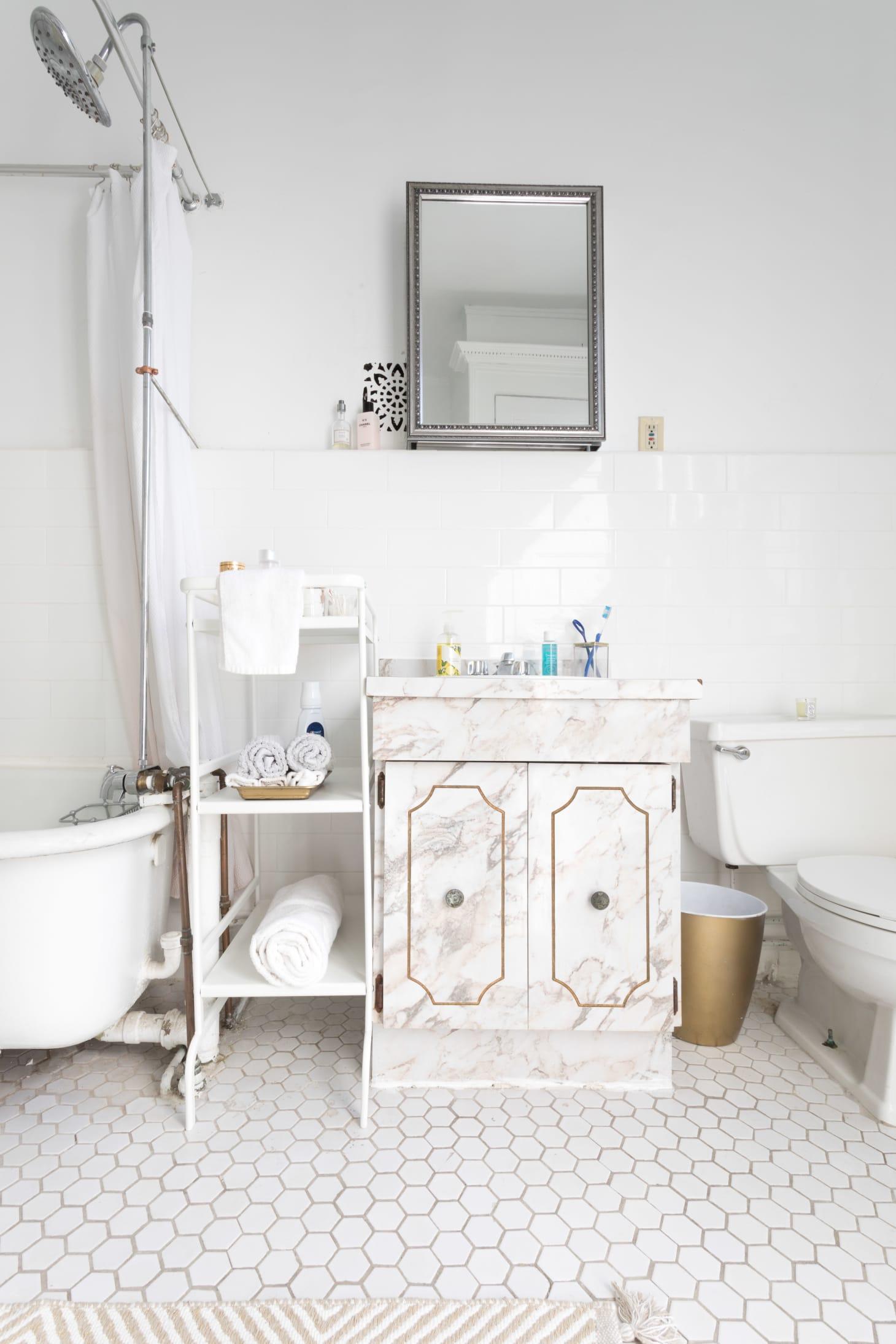 25 Small Bathroom Storage & Design Ideas - Storage ...
