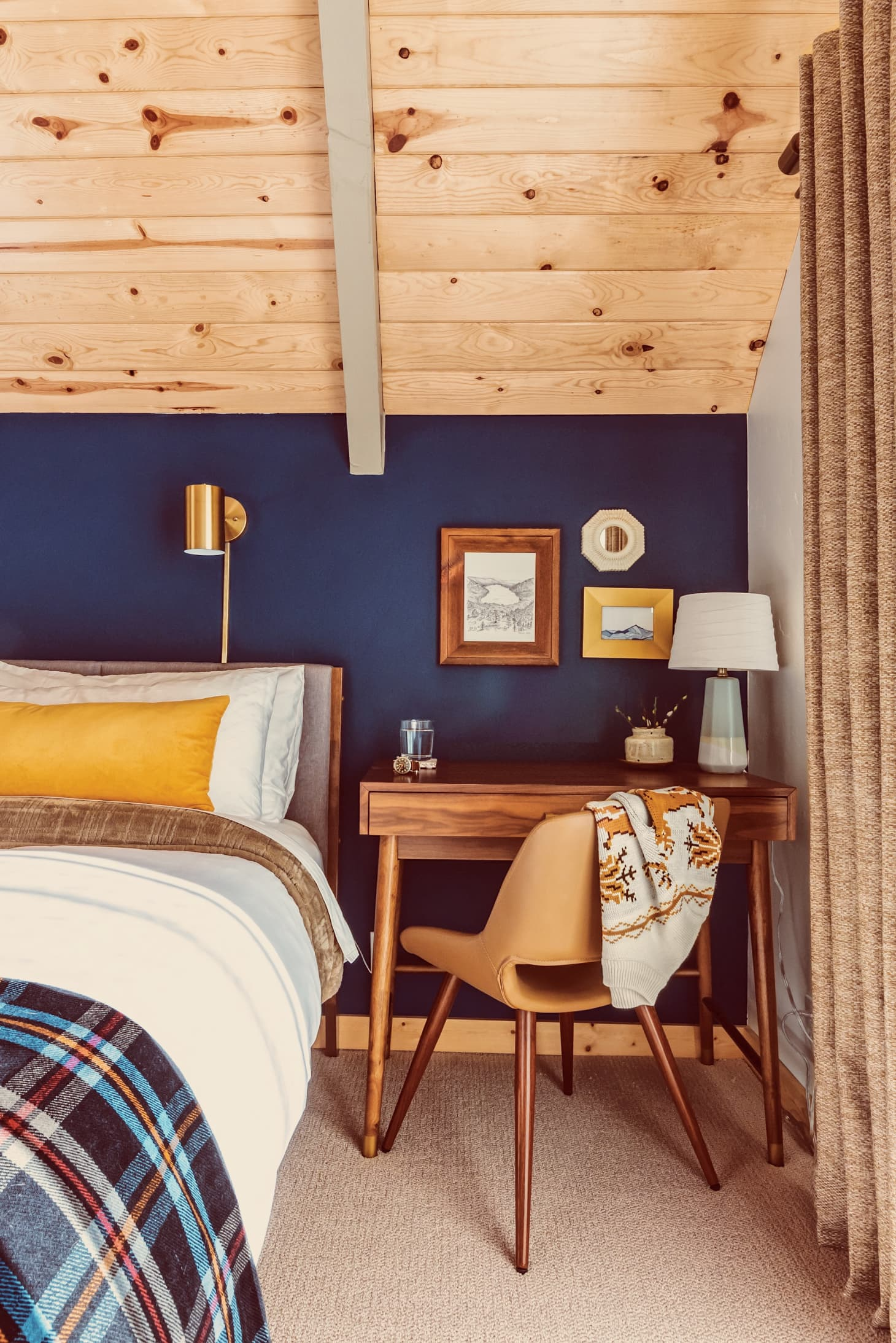 A Frame Cabin Remodeling Project Ideas Apartment Therapy
