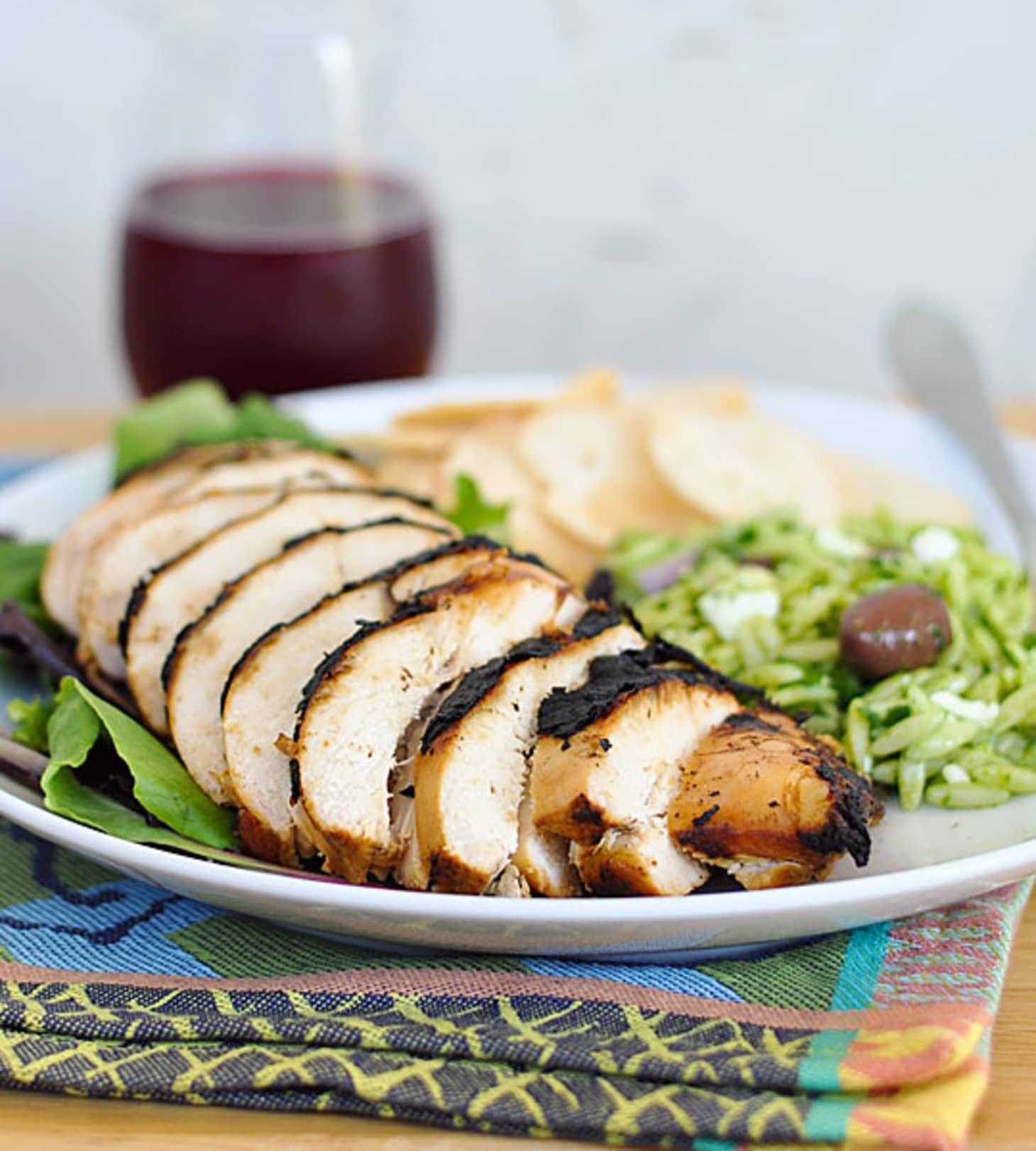 Grill Recipe: Blackened Beer-Brined Chicken Breasts