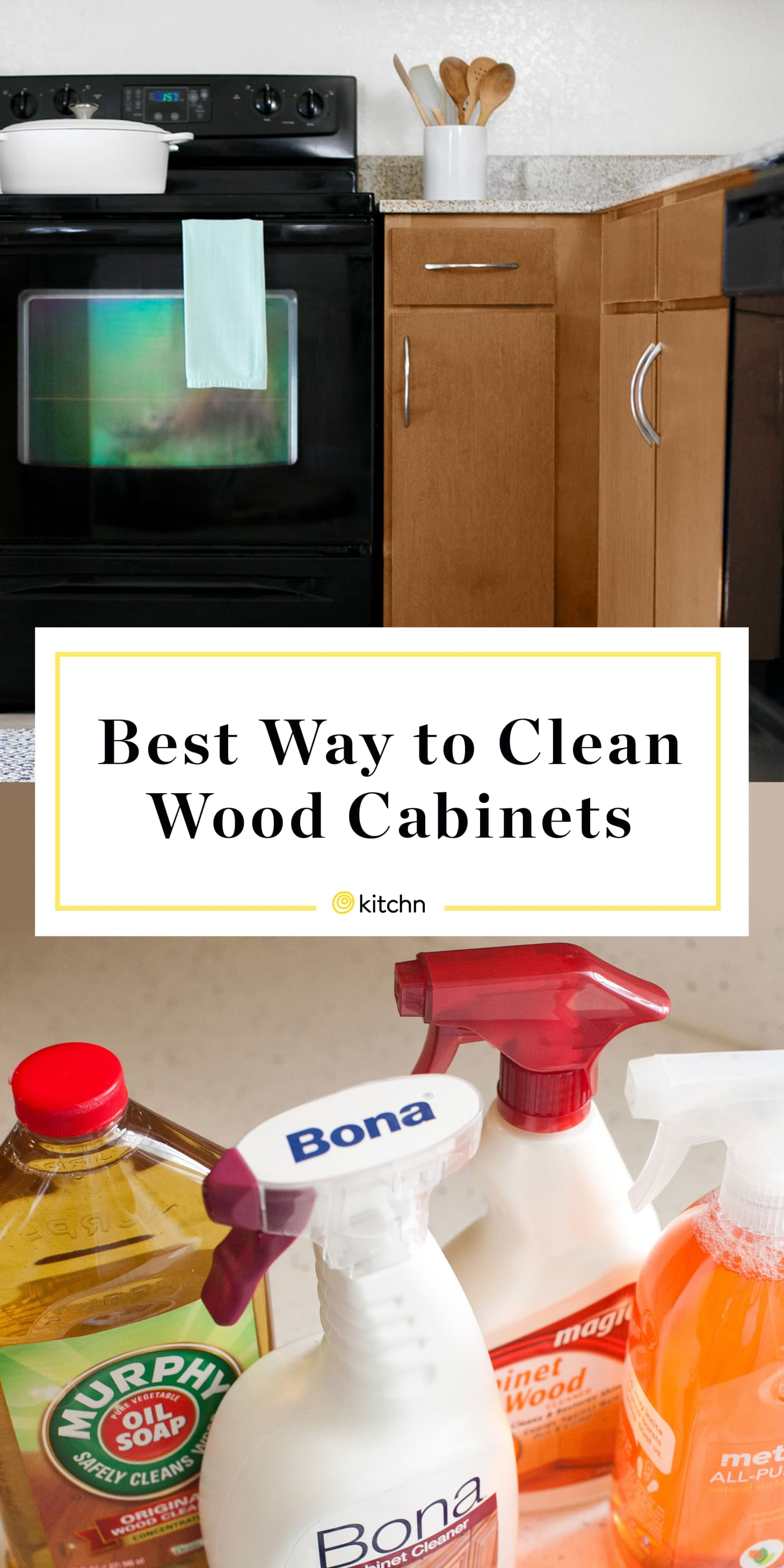 How To Clean Wood Cabinets   Kitchn